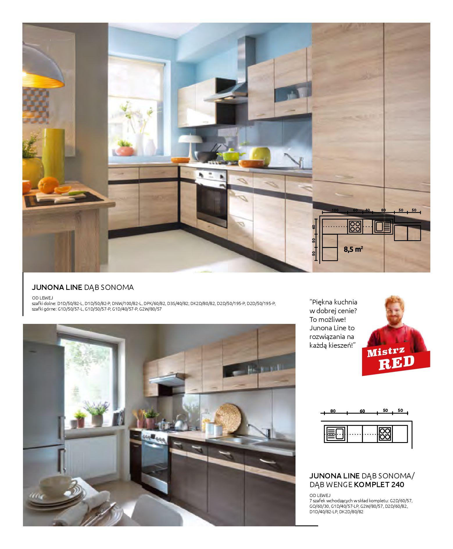 Gazetka Black Red White: Katalog - Kuchnie modułowe 2019-04-01 page-36