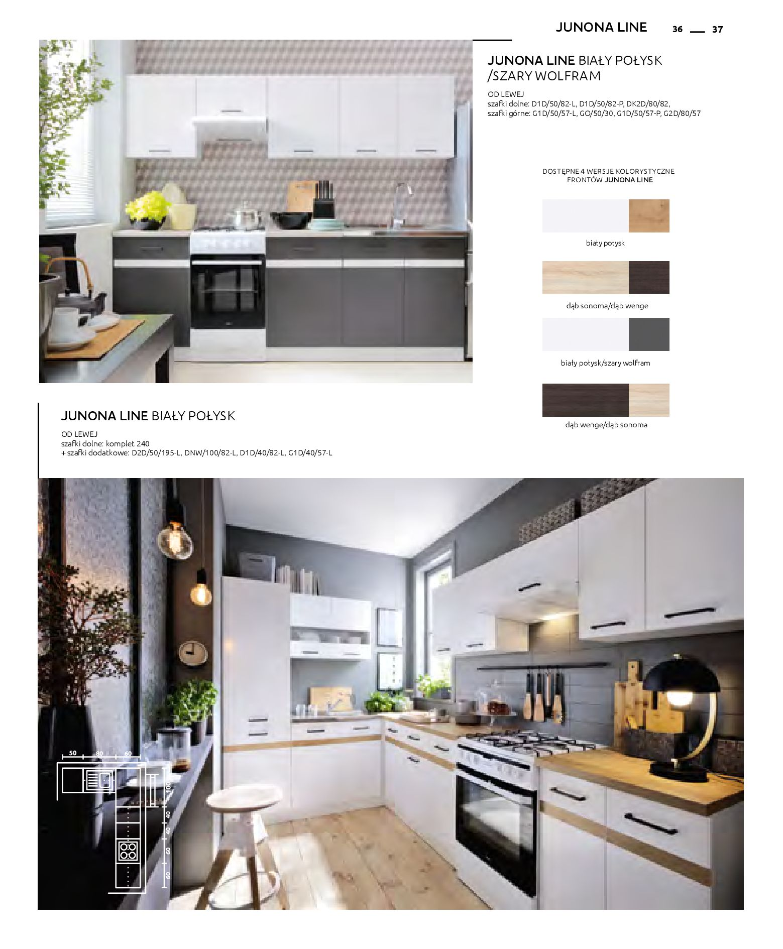Gazetka Black Red White: Katalog - Kuchnie modułowe 2019-04-01 page-37