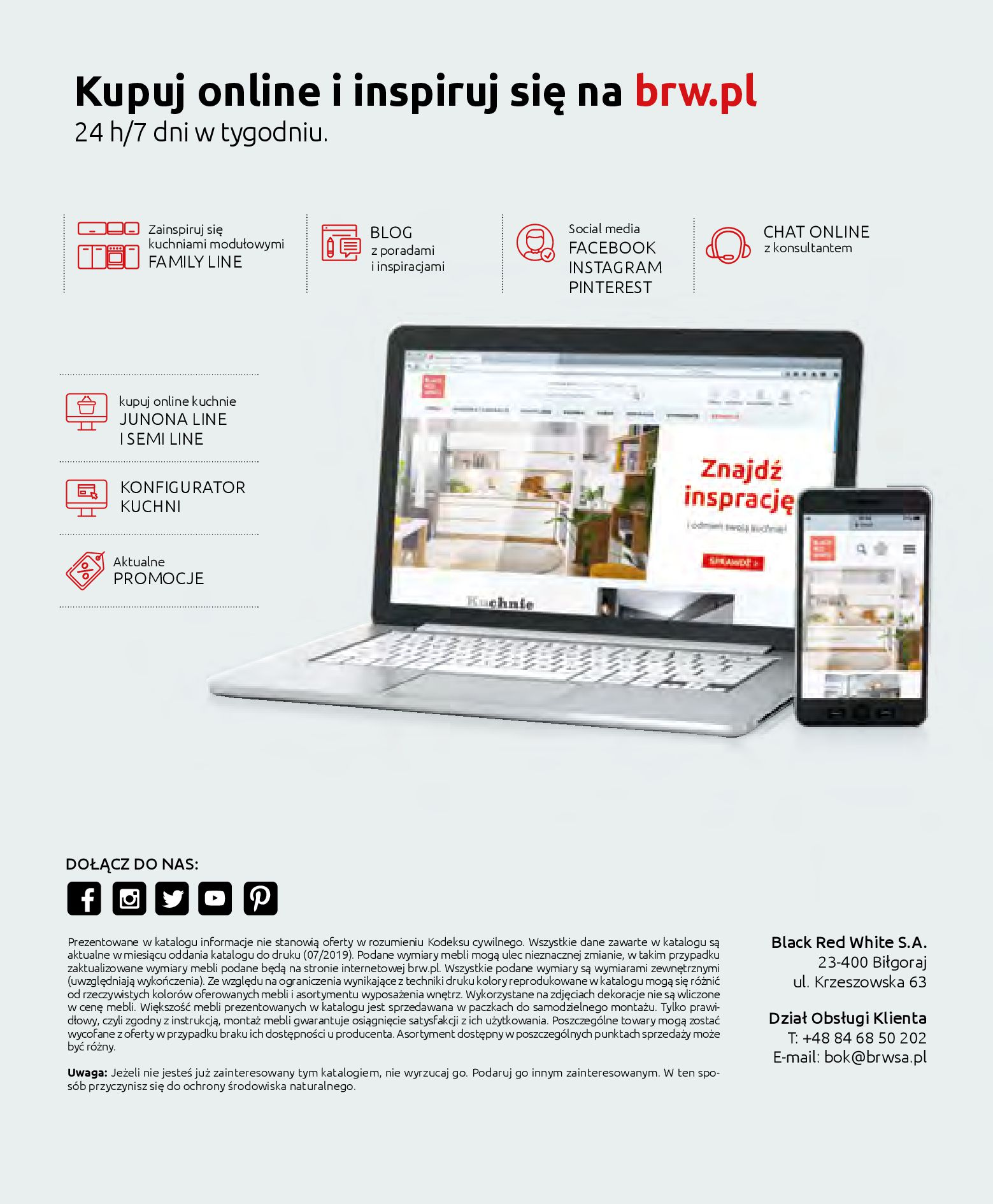 Gazetka Black Red White - Katalog - Kuchnie modułowe-31.03.2019-31.12.2020-page-40