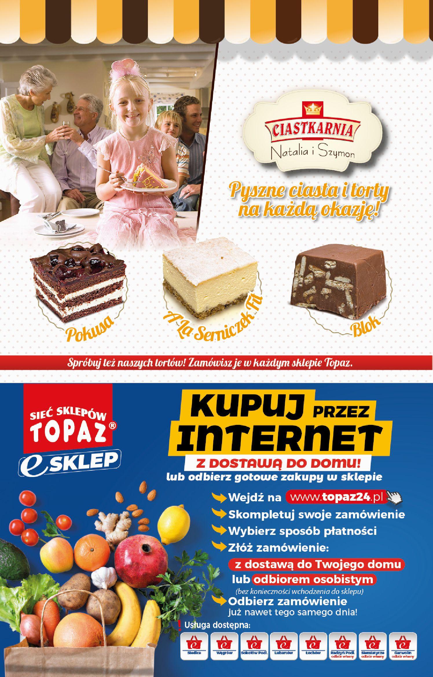 Gazetka TOPAZ: Gazetka promocyjna od 14.01 2021-01-14 page-2