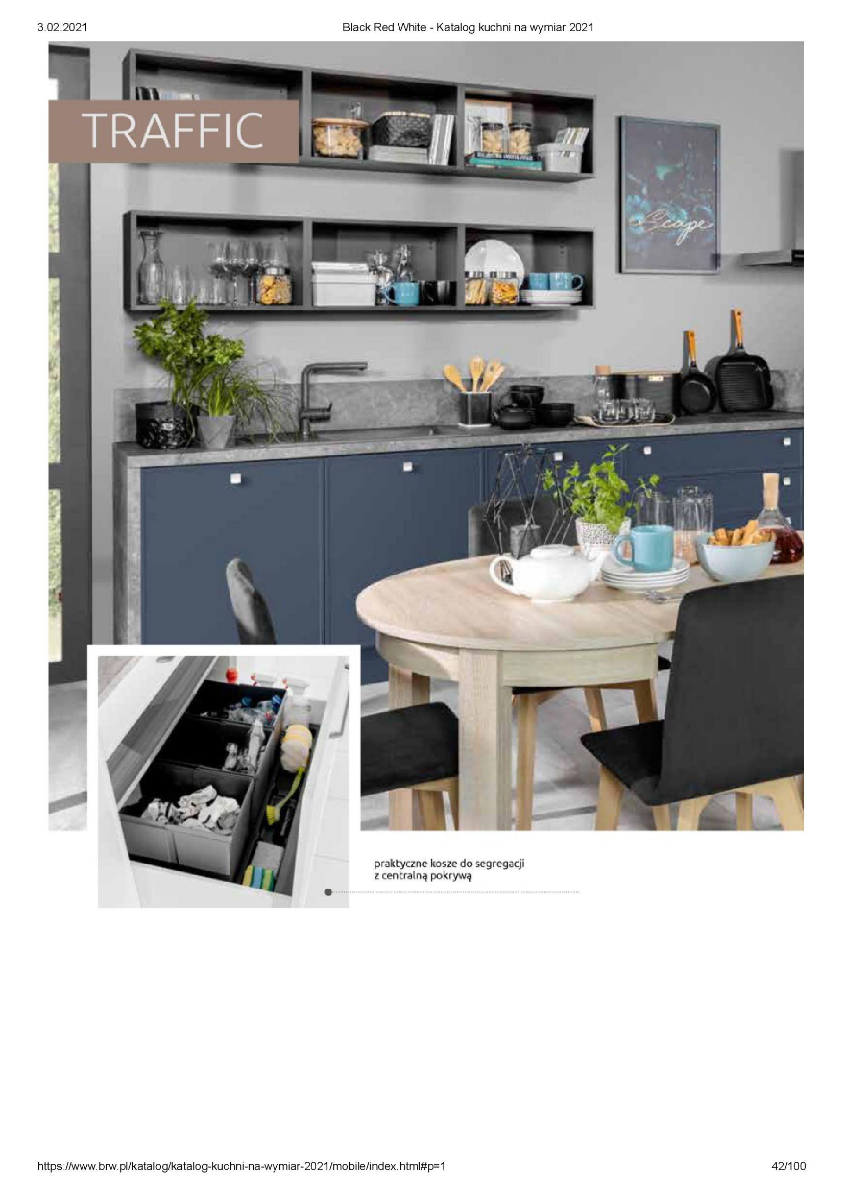 Gazetka Black Red White: Katalog - Kuchnie na wymiar Senso Kitchens 2021 2021-01-01 page-42