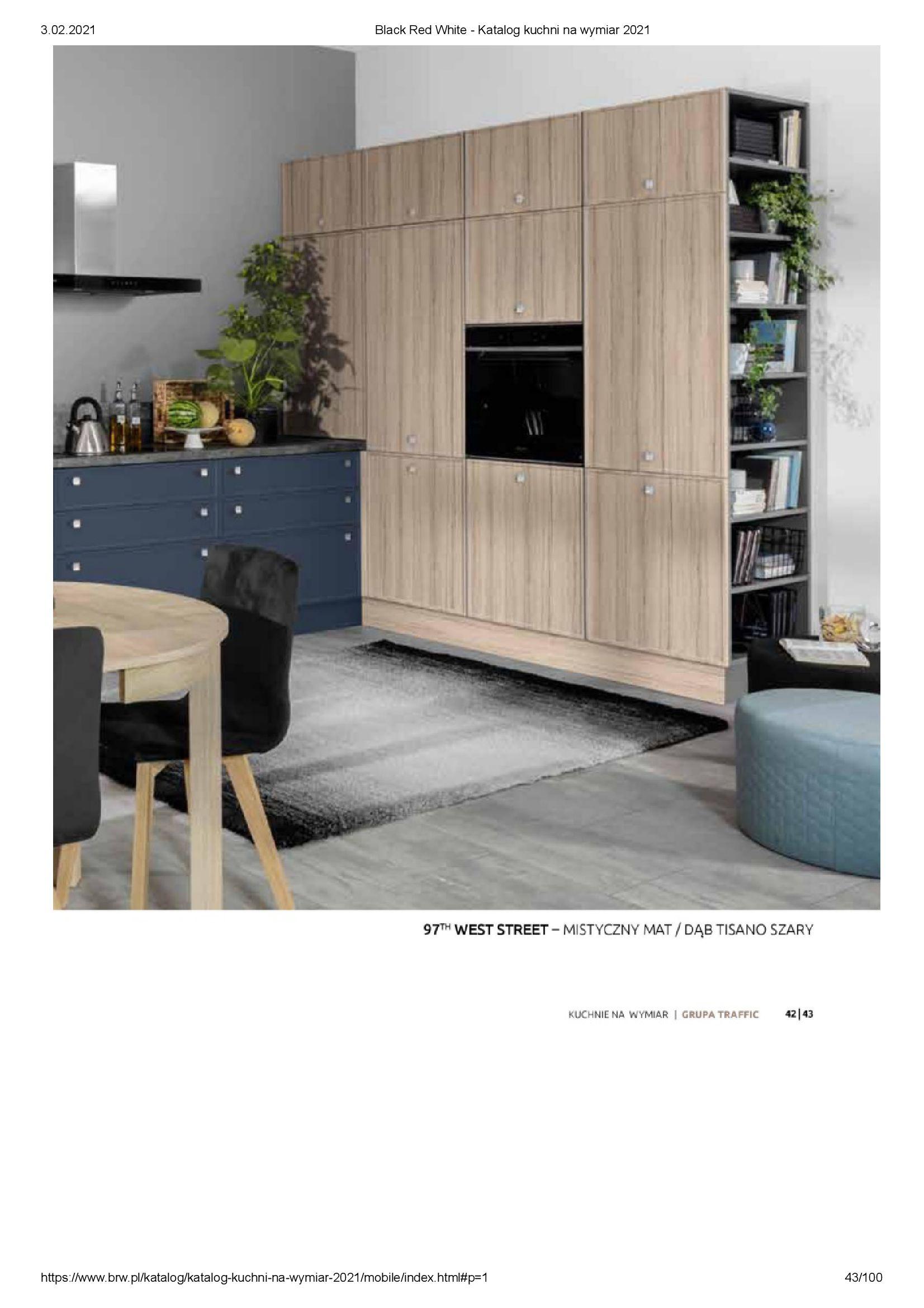 Gazetka Black Red White: Katalog - Kuchnie na wymiar Senso Kitchens 2021 2021-01-01 page-43