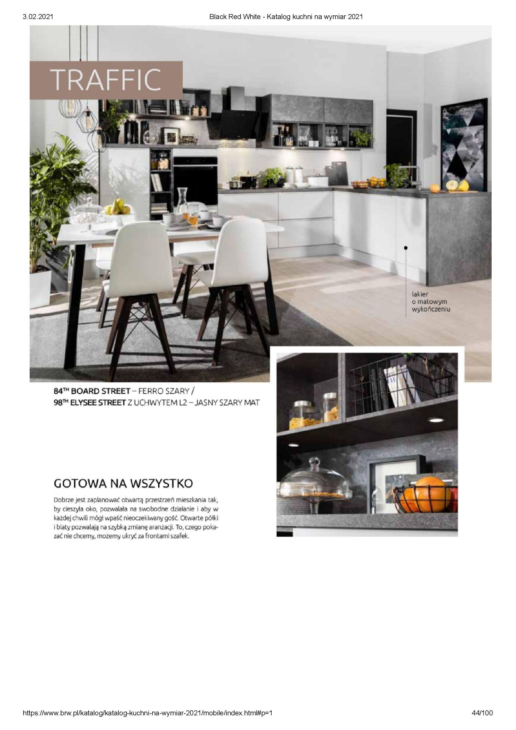 Gazetka Black Red White: Katalog - Kuchnie na wymiar Senso Kitchens 2021 2021-01-01 page-44