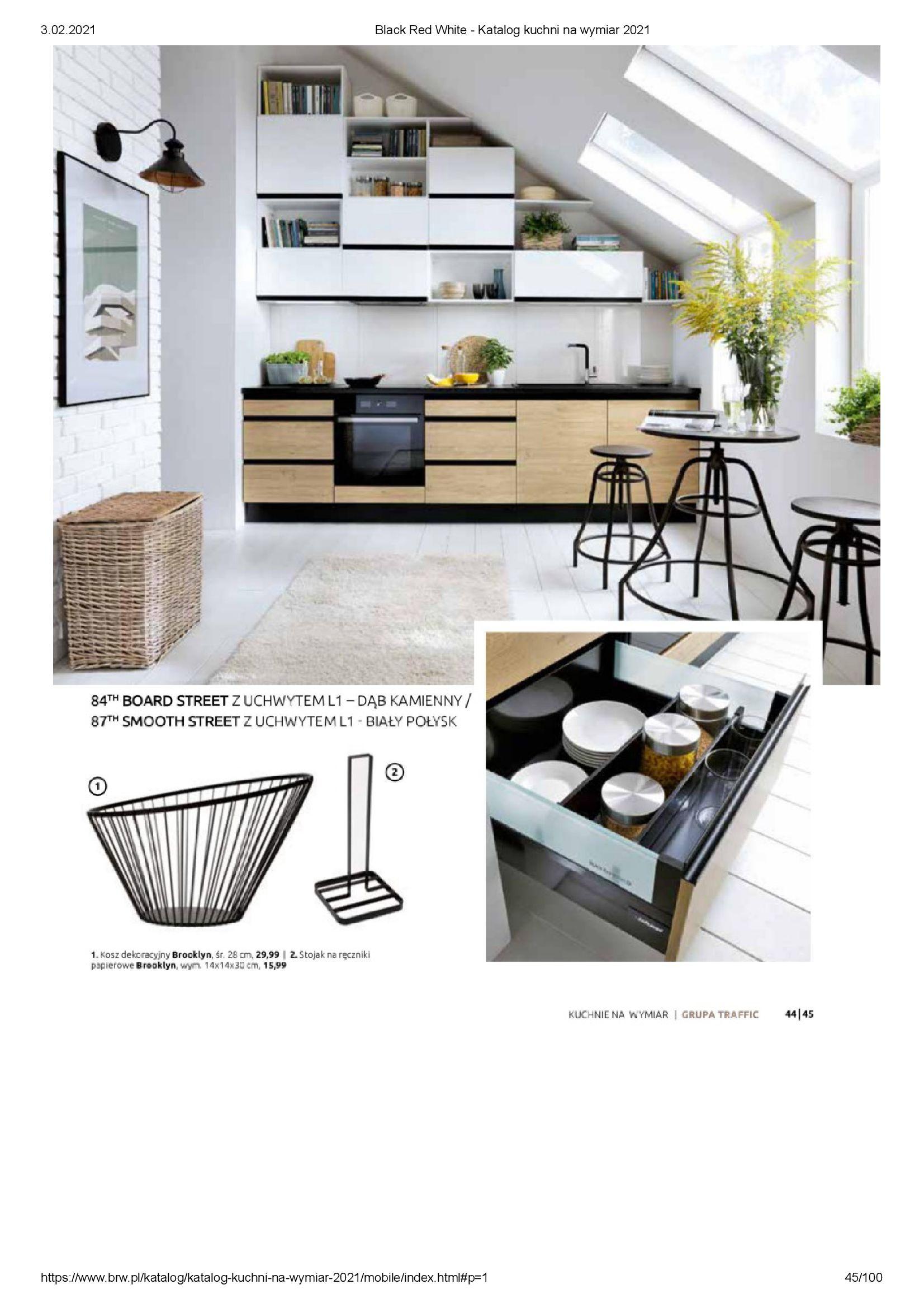 Gazetka Black Red White: Katalog - Kuchnie na wymiar Senso Kitchens 2021 2021-01-01 page-45