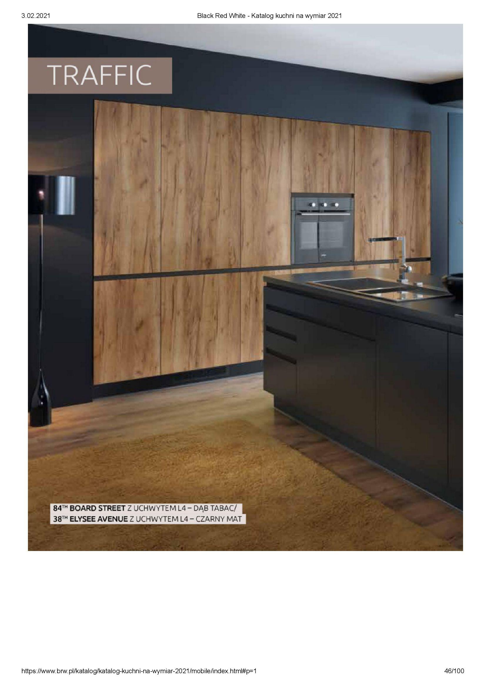 Gazetka Black Red White: Katalog - Kuchnie na wymiar Senso Kitchens 2021 2021-01-01 page-46