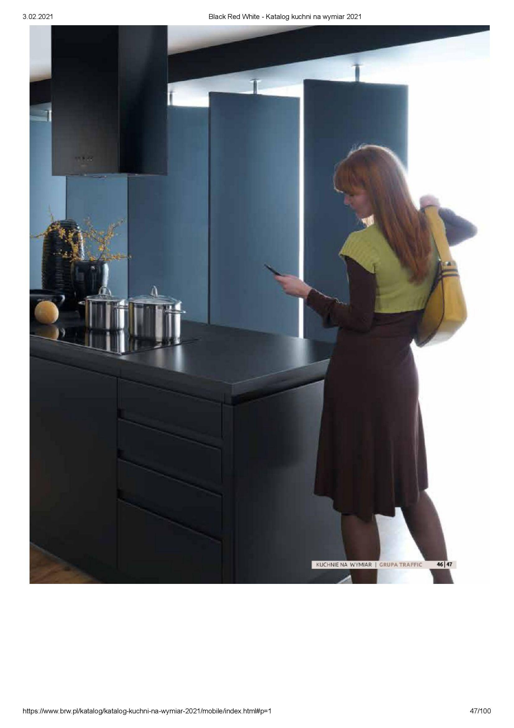 Gazetka Black Red White: Katalog - Kuchnie na wymiar Senso Kitchens 2021 2021-01-01 page-47