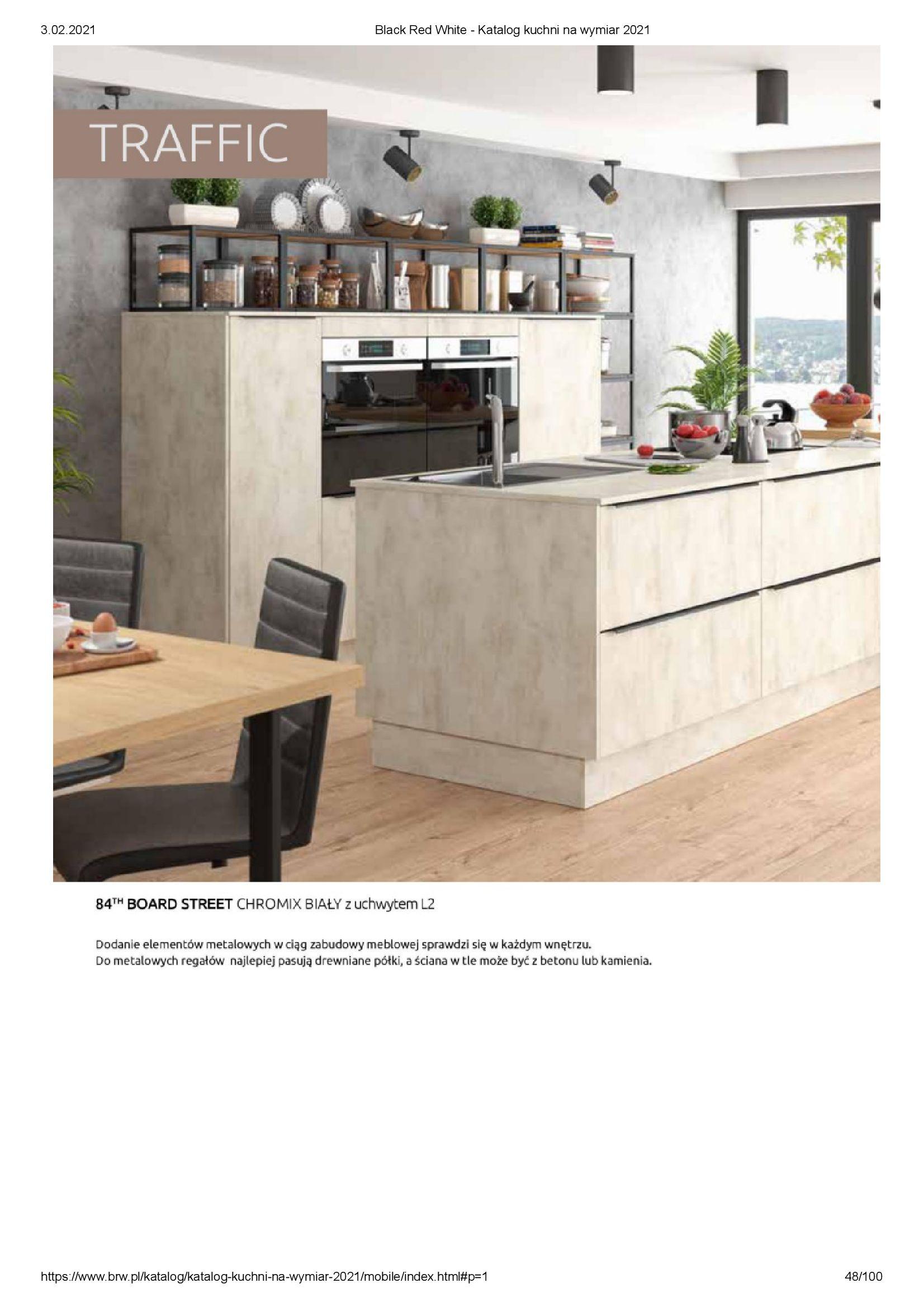 Gazetka Black Red White: Katalog - Kuchnie na wymiar Senso Kitchens 2021 2021-01-01 page-48