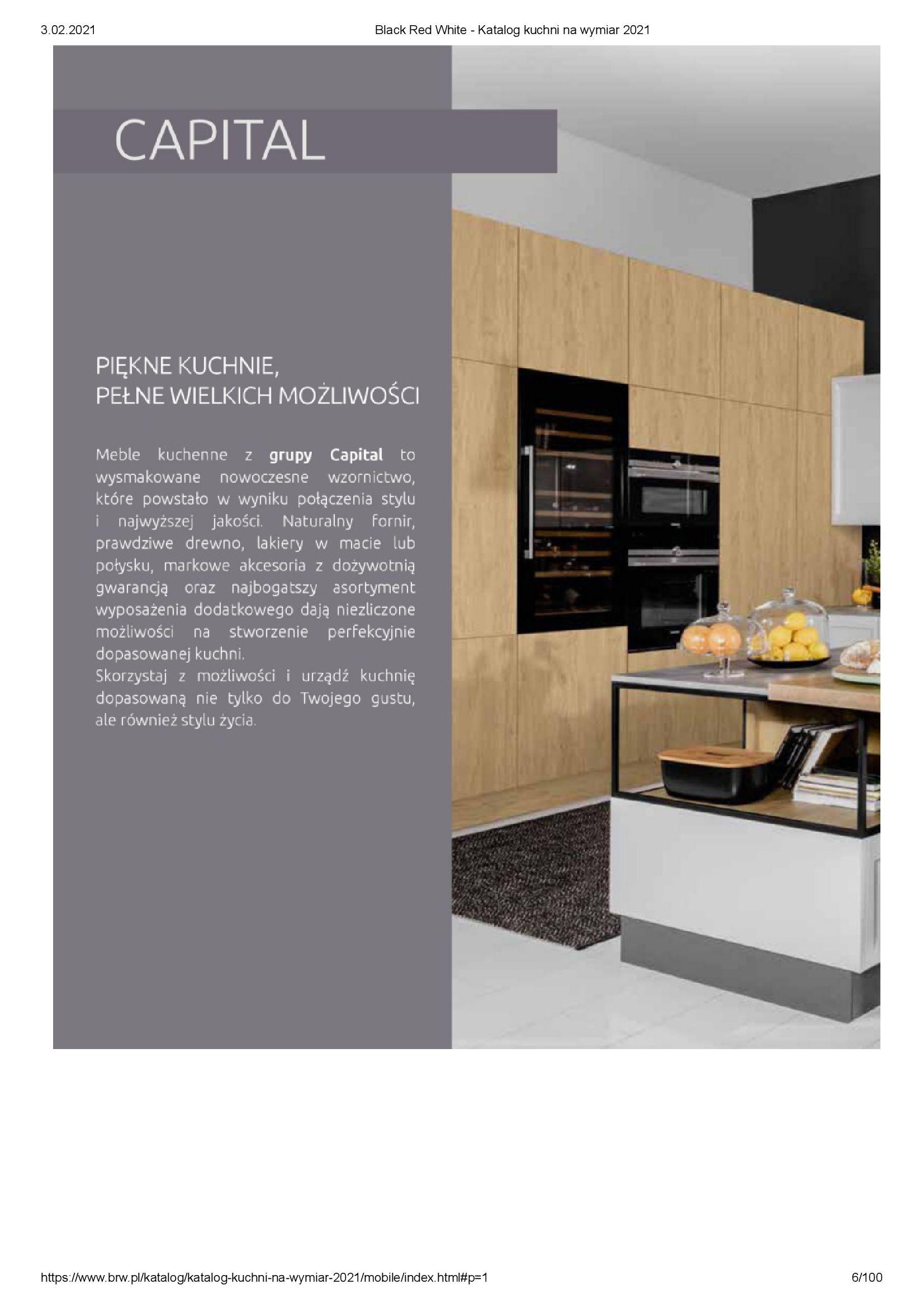 Gazetka Black Red White: Katalog - Kuchnie na wymiar Senso Kitchens 2021 2021-01-01 page-6