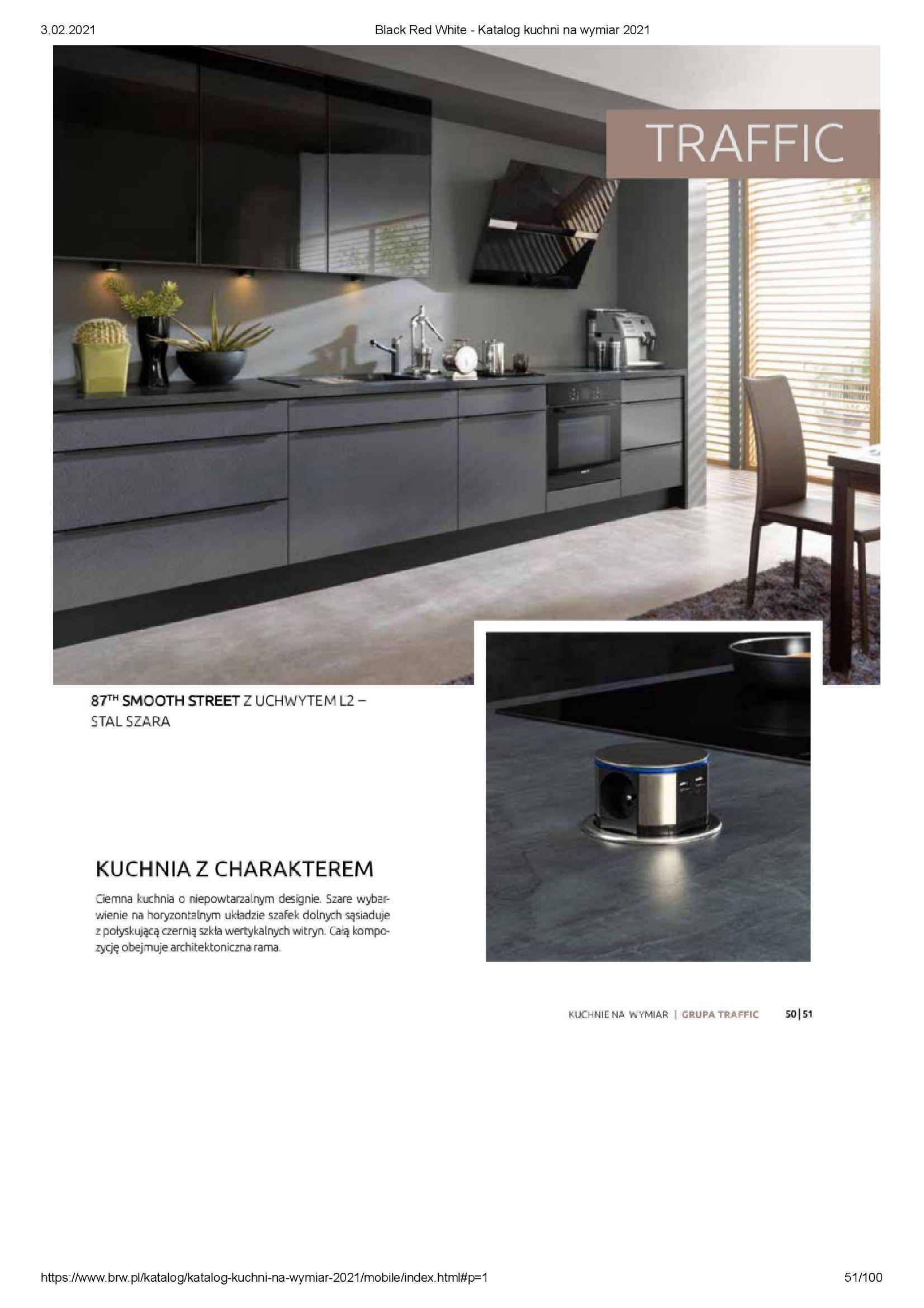 Gazetka Black Red White: Katalog - Kuchnie na wymiar Senso Kitchens 2021 2021-01-01 page-51