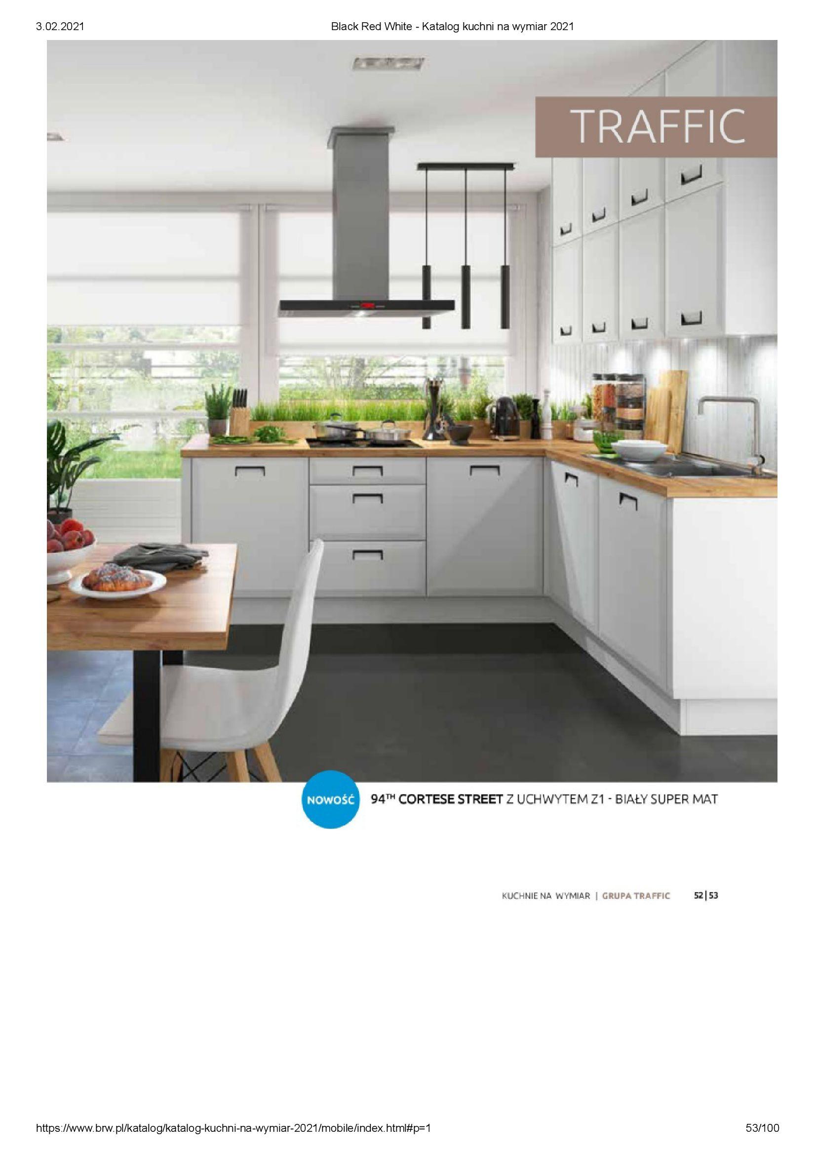 Gazetka Black Red White: Katalog - Kuchnie na wymiar Senso Kitchens 2021 2021-01-01 page-53