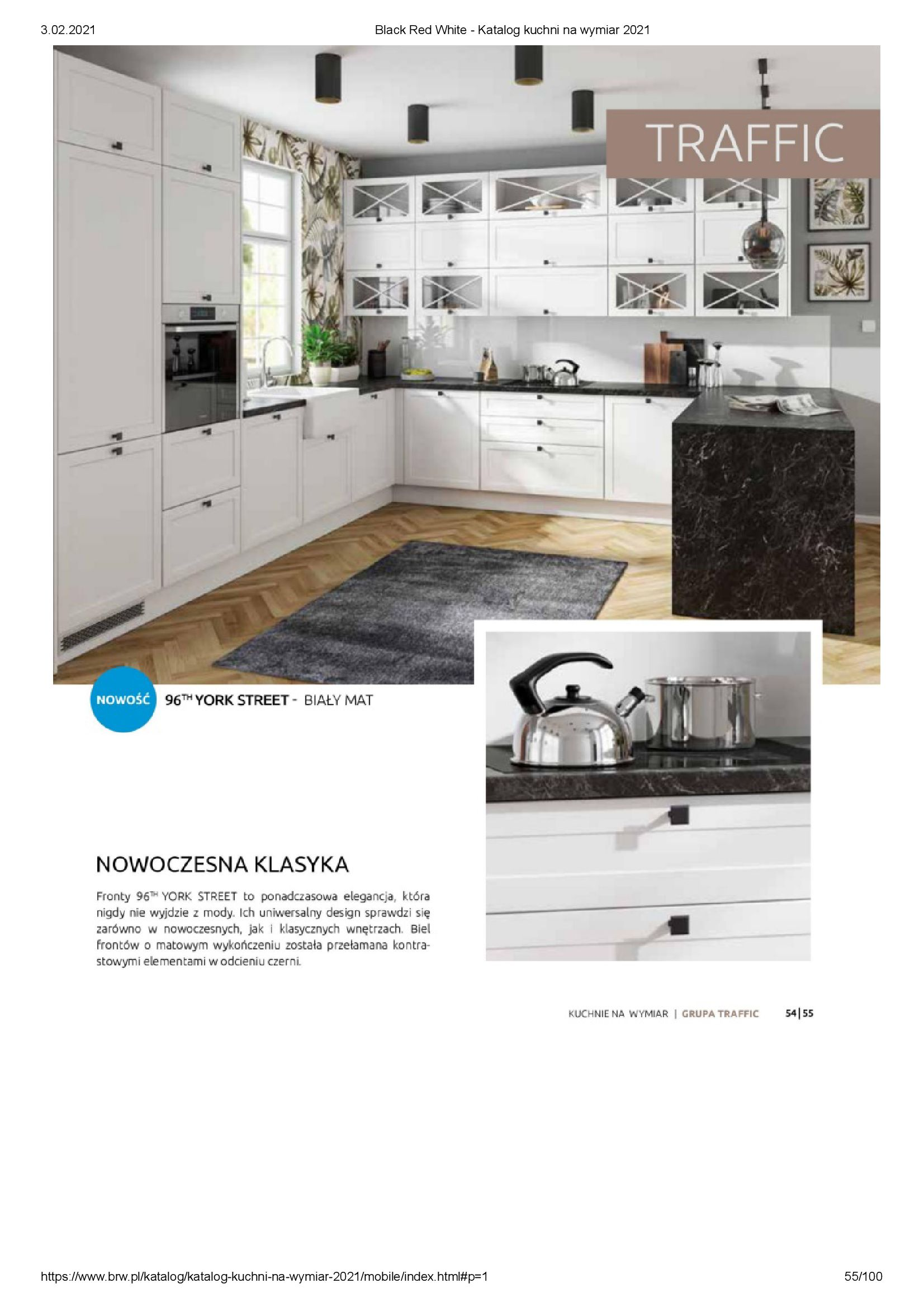 Gazetka Black Red White: Katalog - Kuchnie na wymiar Senso Kitchens 2021 2021-01-01 page-55