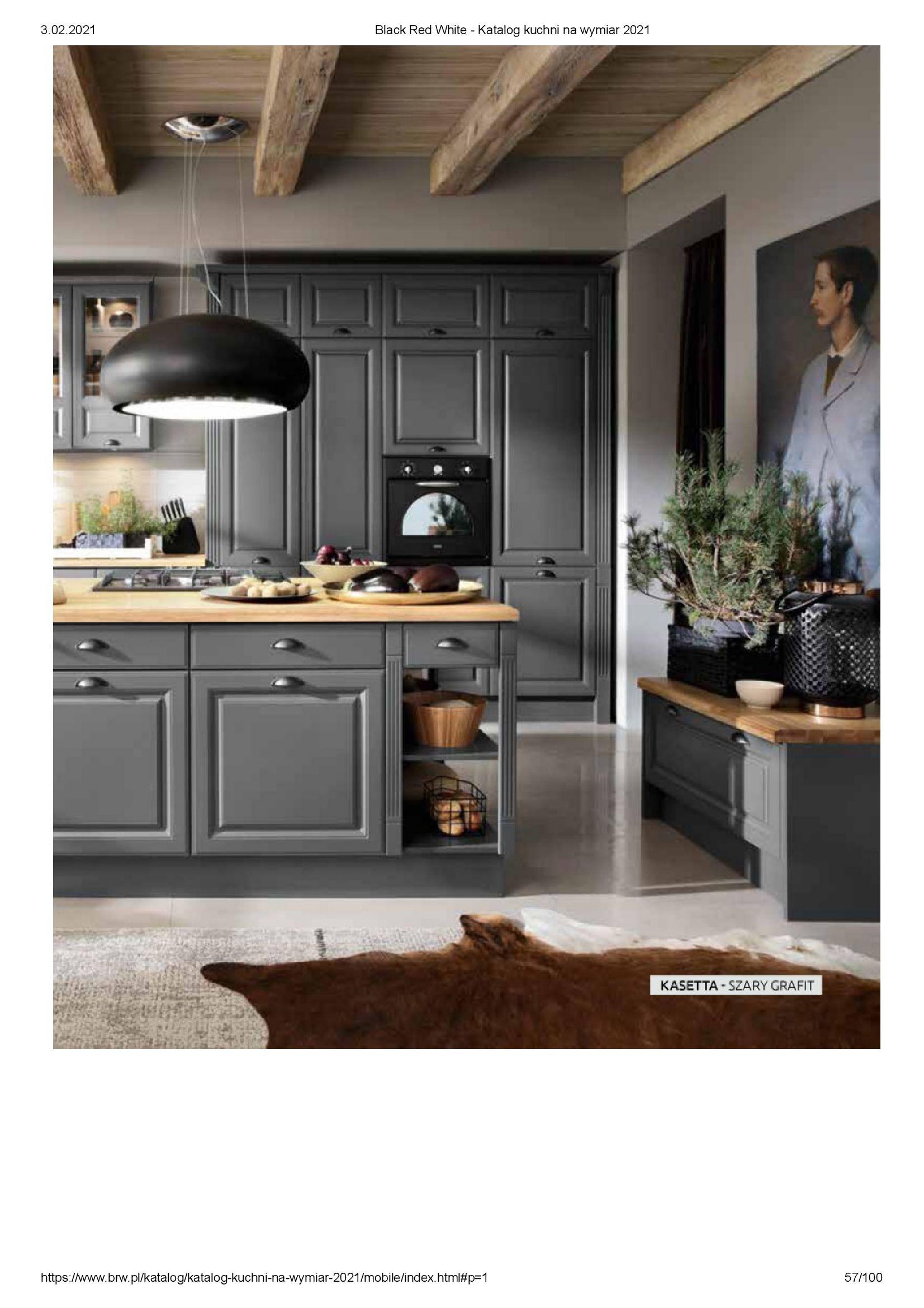 Gazetka Black Red White: Katalog - Kuchnie na wymiar Senso Kitchens 2021 2021-01-01 page-57