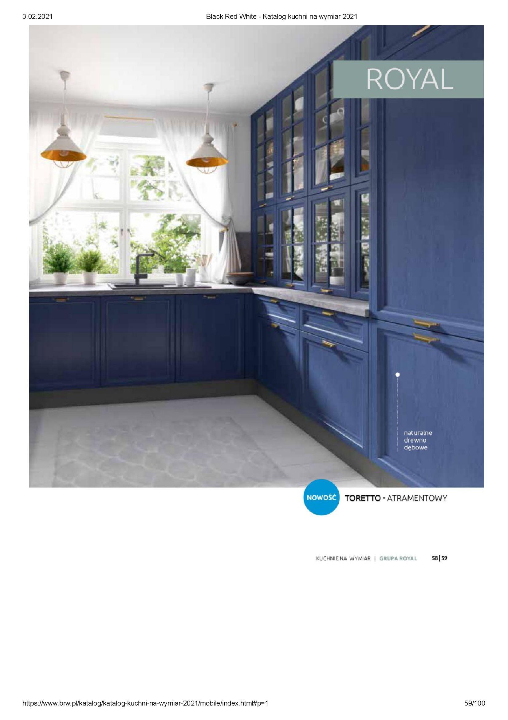 Gazetka Black Red White: Katalog - Kuchnie na wymiar Senso Kitchens 2021 2021-01-01 page-59