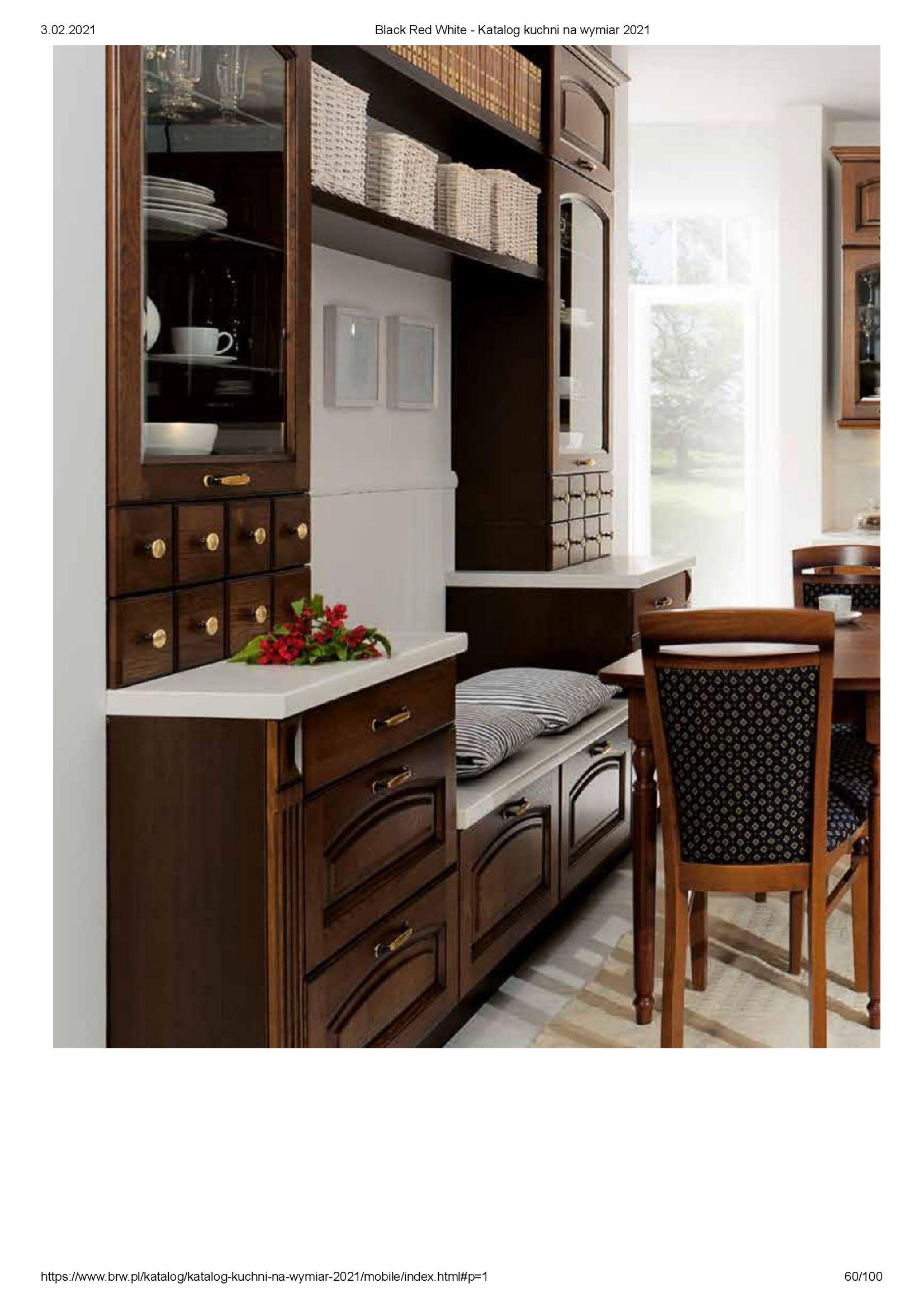 Gazetka Black Red White: Katalog - Kuchnie na wymiar Senso Kitchens 2021 2021-01-01 page-60