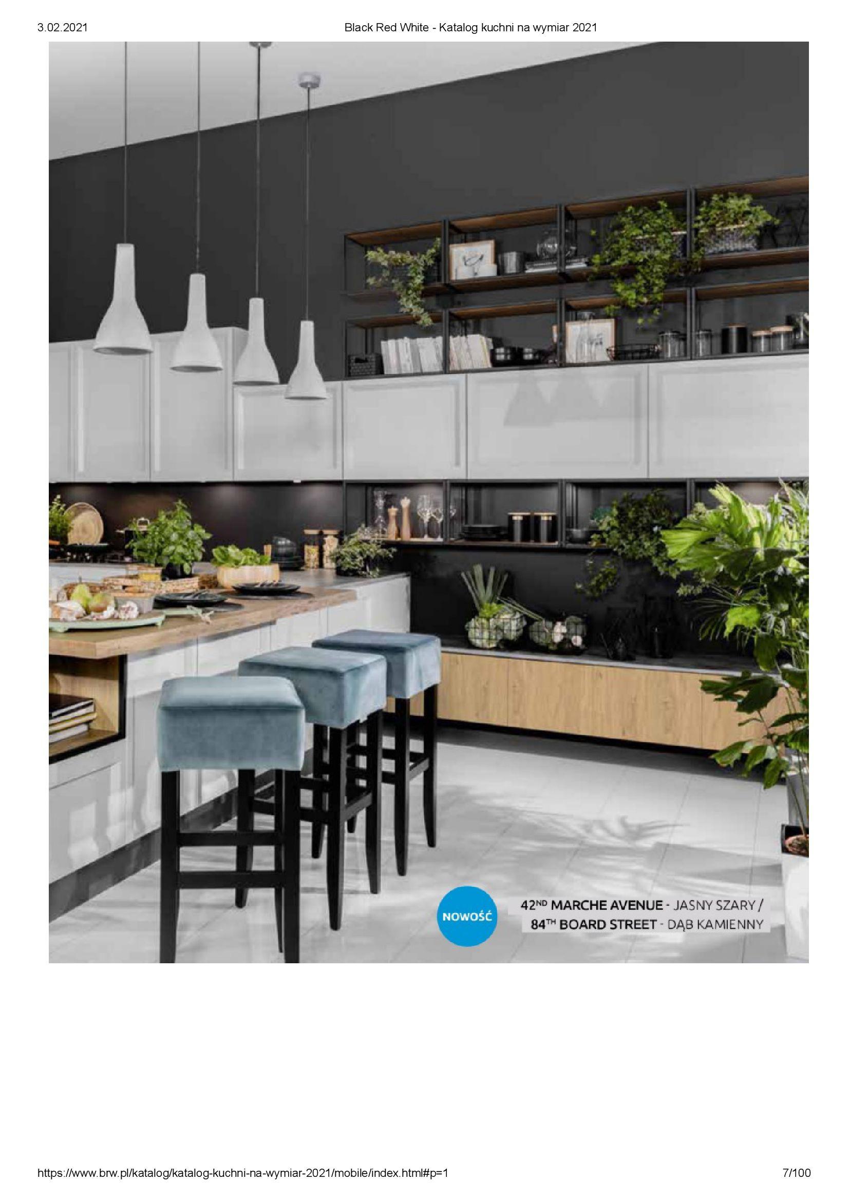 Gazetka Black Red White: Katalog - Kuchnie na wymiar Senso Kitchens 2021 2021-01-01 page-7
