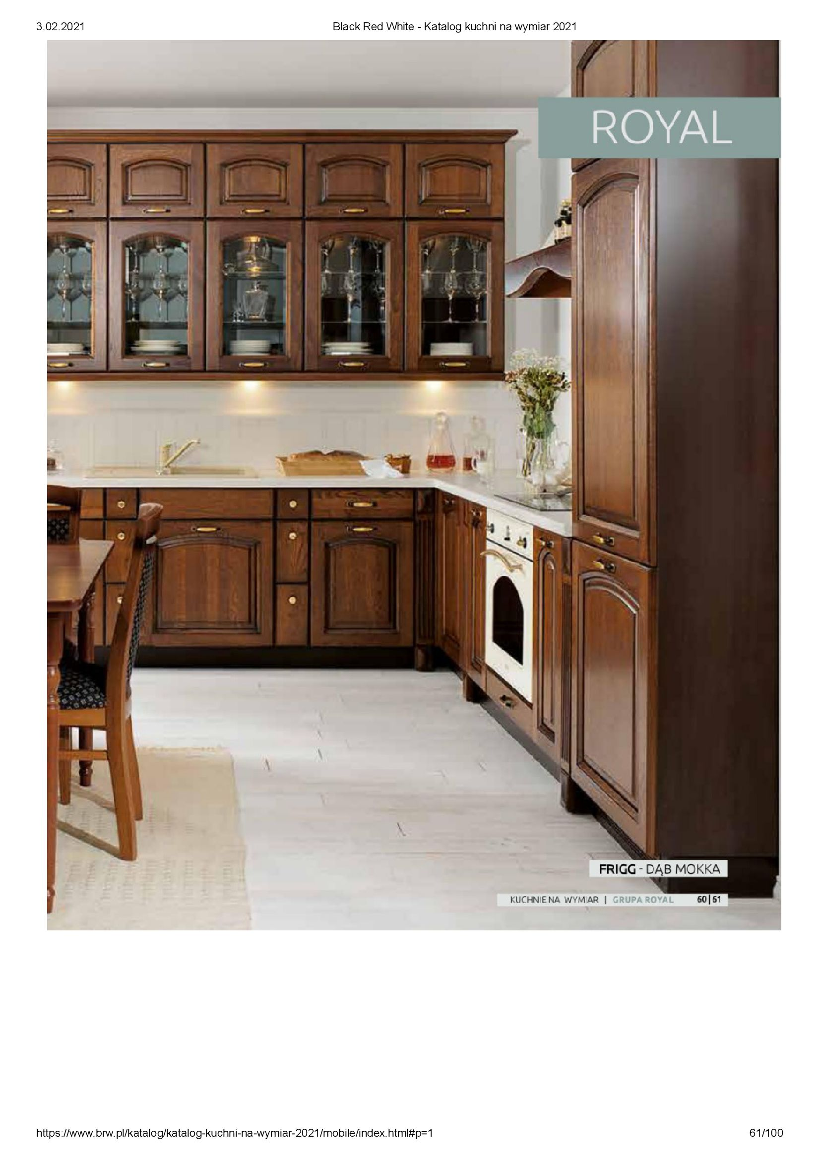 Gazetka Black Red White: Katalog - Kuchnie na wymiar Senso Kitchens 2021 2021-01-01 page-61