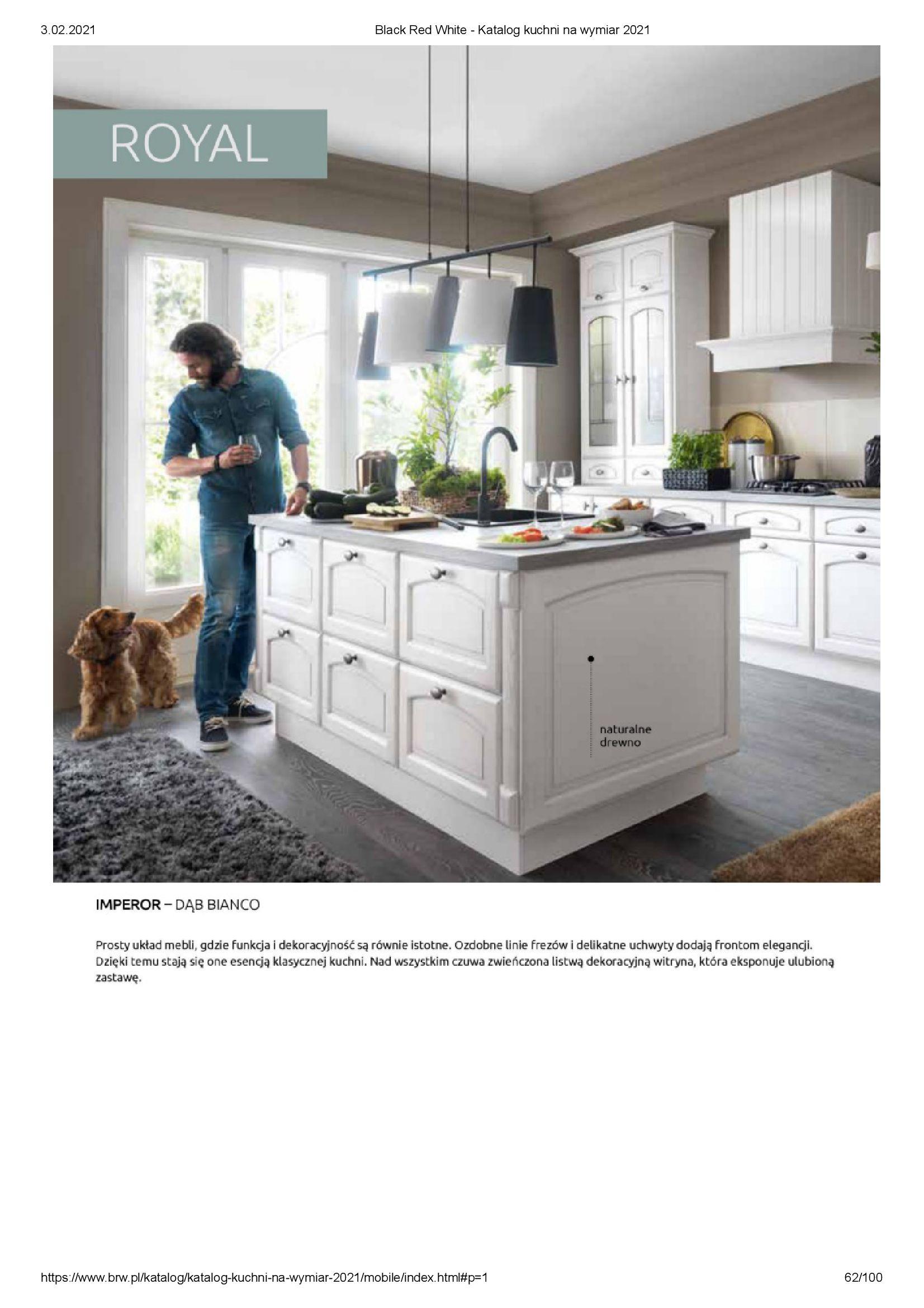 Gazetka Black Red White: Katalog - Kuchnie na wymiar Senso Kitchens 2021 2021-01-01 page-62