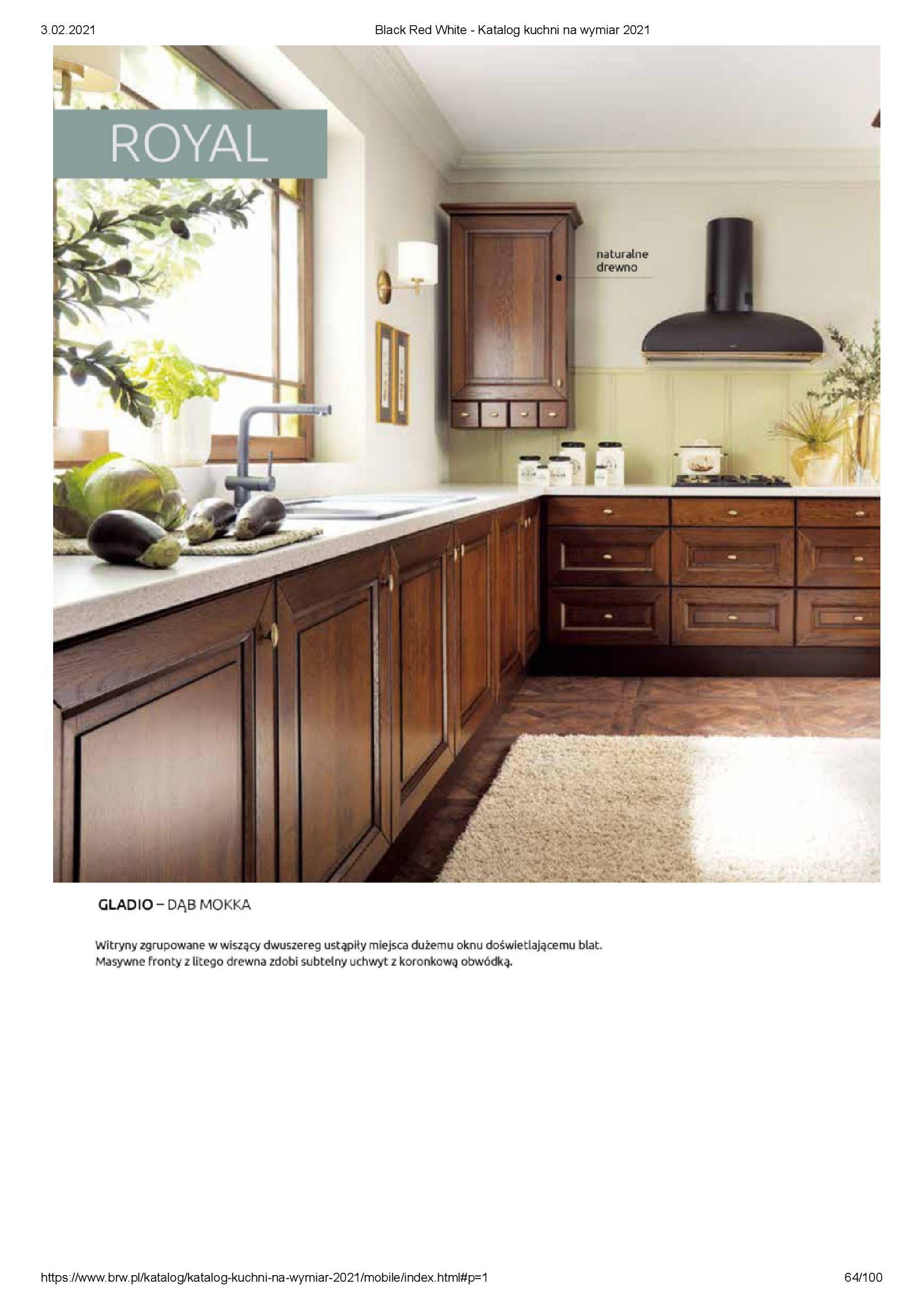 Gazetka Black Red White: Katalog - Kuchnie na wymiar Senso Kitchens 2021 2021-01-01 page-64