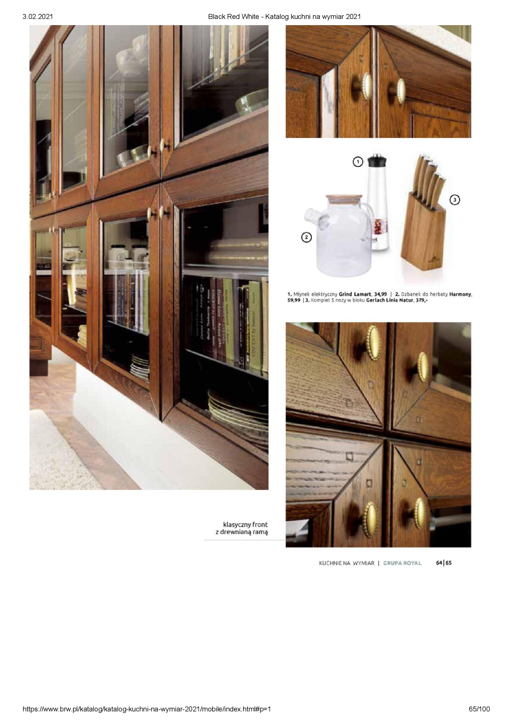 Gazetka Black Red White: Katalog - Kuchnie na wymiar Senso Kitchens 2021 2021-01-01 page-65