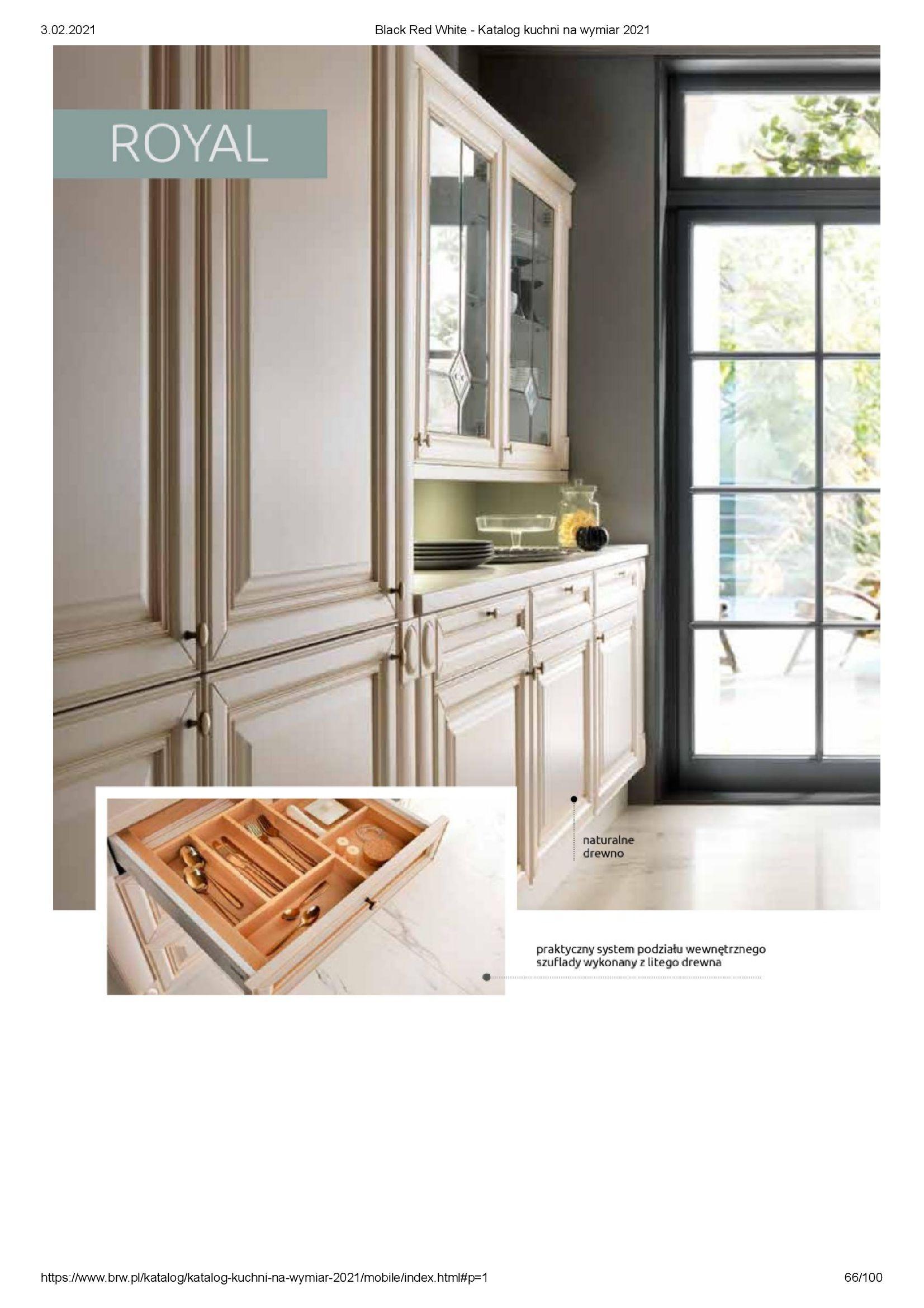 Gazetka Black Red White: Katalog - Kuchnie na wymiar Senso Kitchens 2021 2021-01-01 page-66