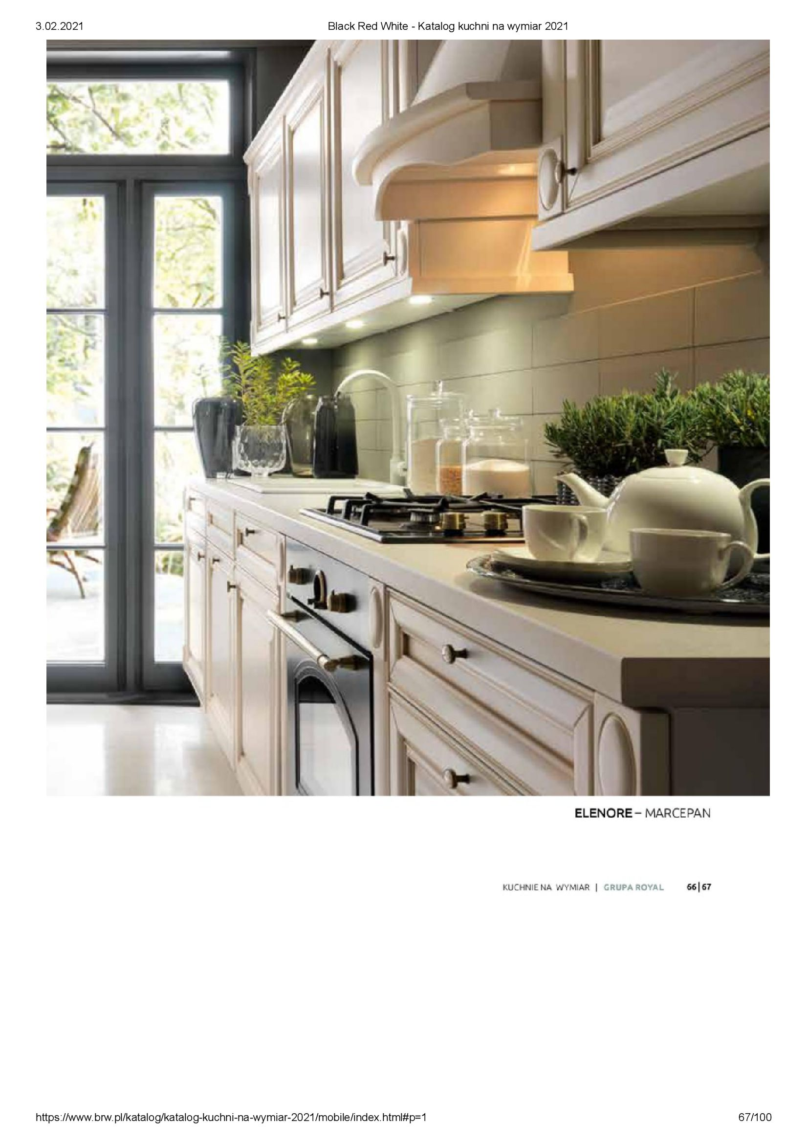Gazetka Black Red White: Katalog - Kuchnie na wymiar Senso Kitchens 2021 2021-01-01 page-67