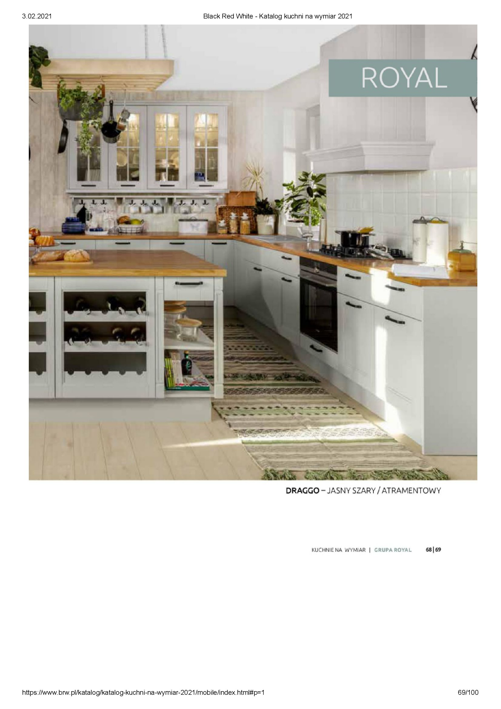 Gazetka Black Red White: Katalog - Kuchnie na wymiar Senso Kitchens 2021 2021-01-01 page-69