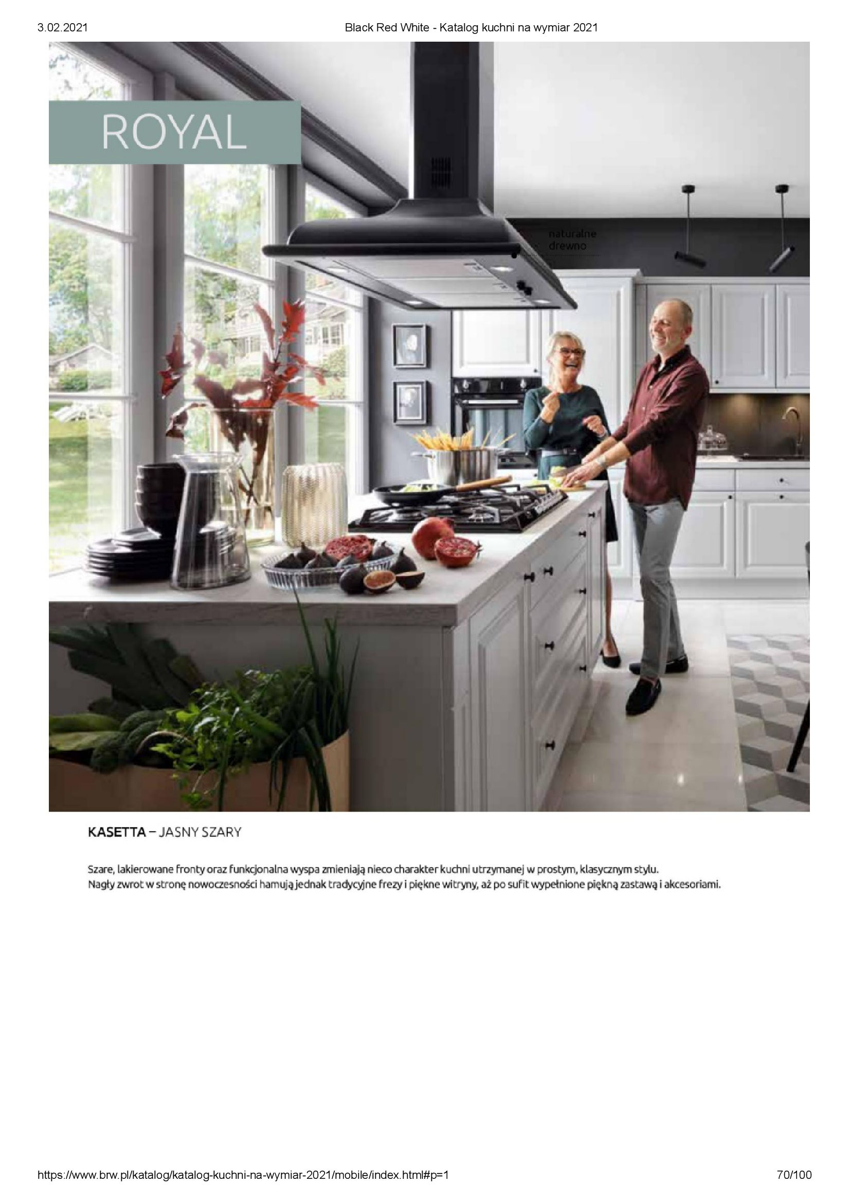 Gazetka Black Red White: Katalog - Kuchnie na wymiar Senso Kitchens 2021 2021-01-01 page-70