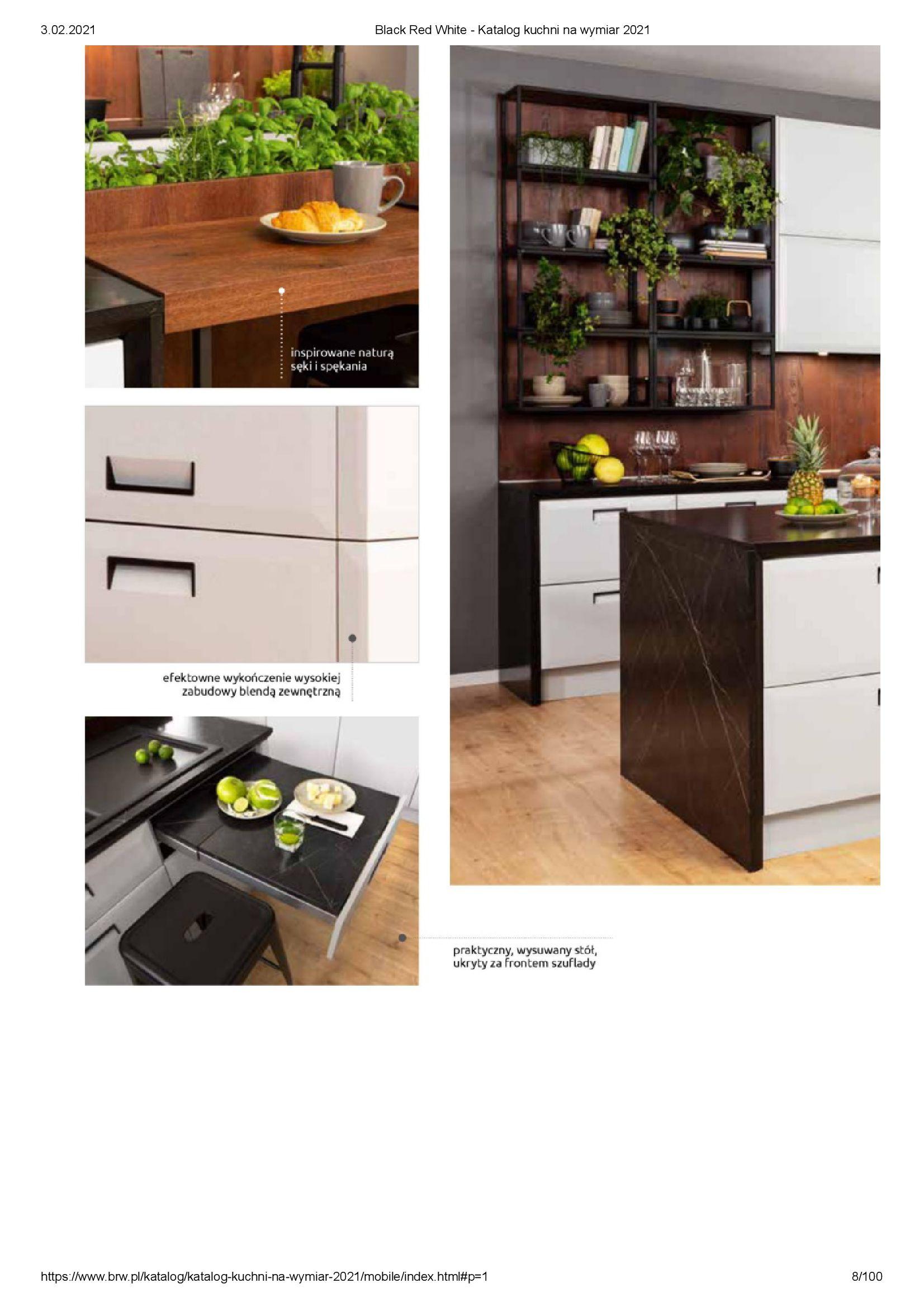 Gazetka Black Red White: Katalog - Kuchnie na wymiar Senso Kitchens 2021 2021-01-01 page-8
