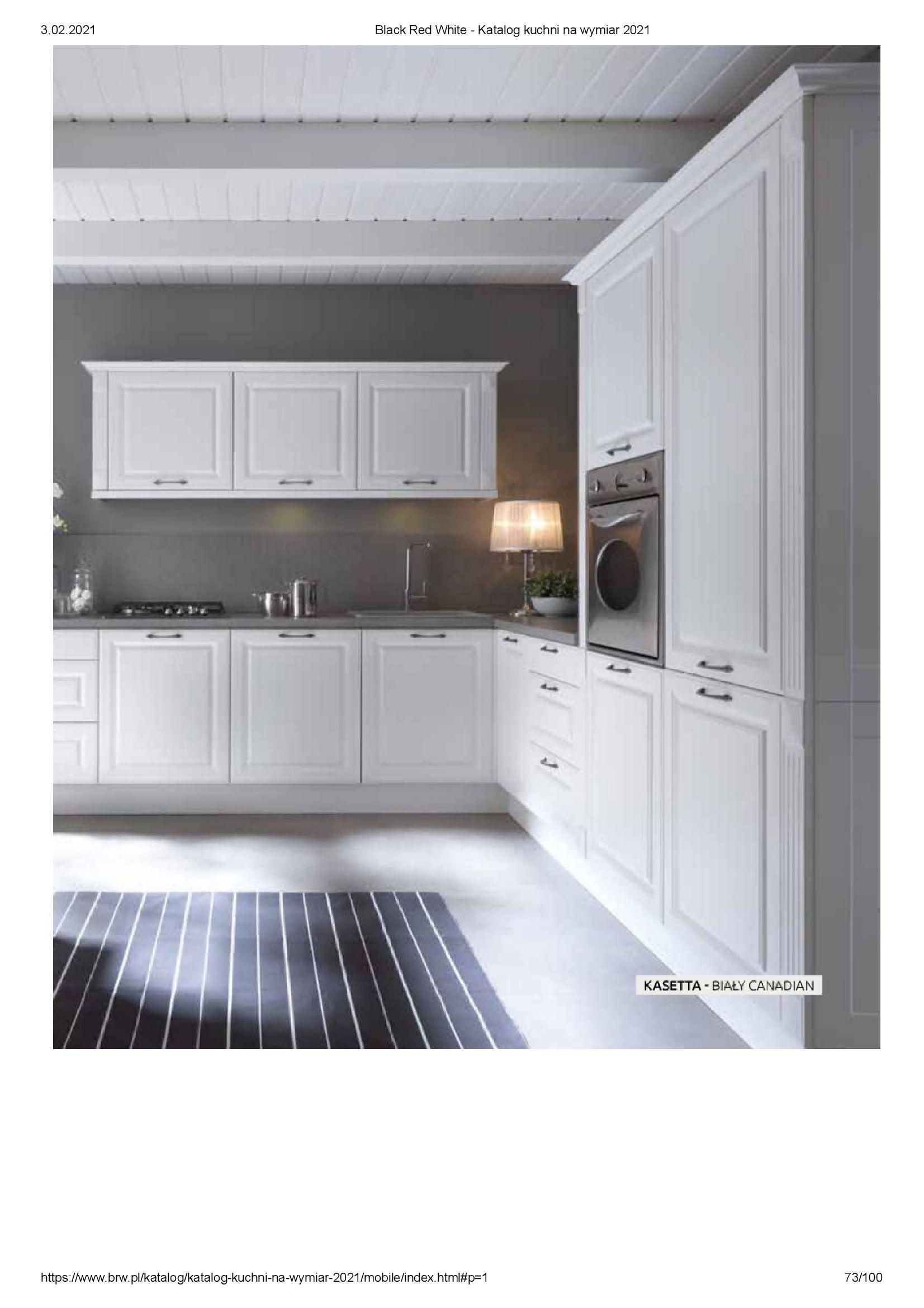 Gazetka Black Red White: Katalog - Kuchnie na wymiar Senso Kitchens 2021 2021-01-01 page-73