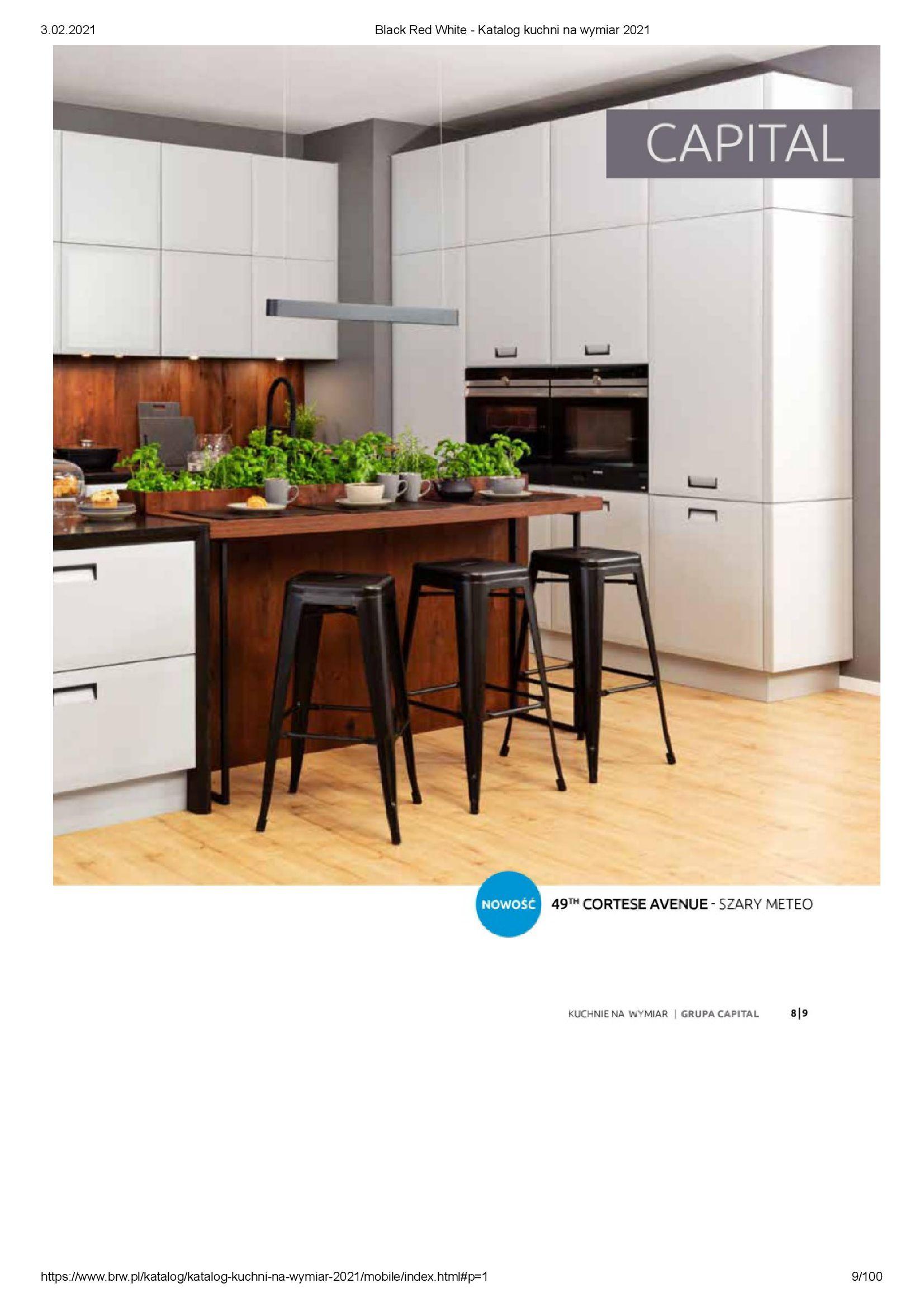 Gazetka Black Red White: Katalog - Kuchnie na wymiar Senso Kitchens 2021 2021-01-01 page-9