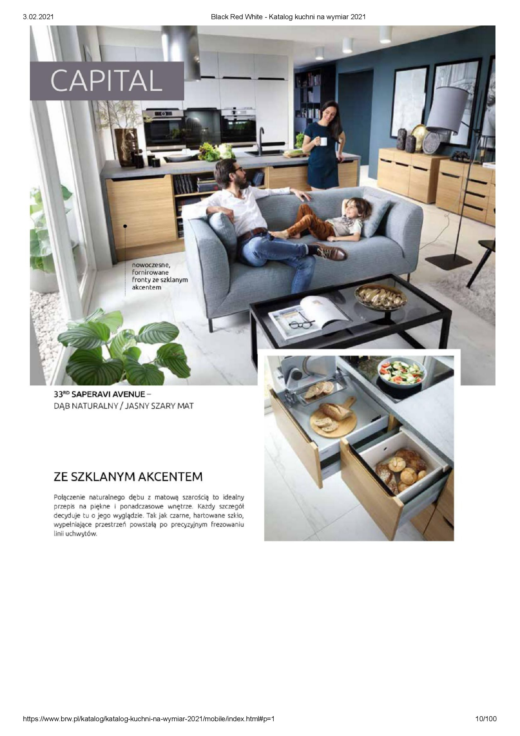Gazetka Black Red White: Katalog - Kuchnie na wymiar Senso Kitchens 2021 2021-01-01 page-10