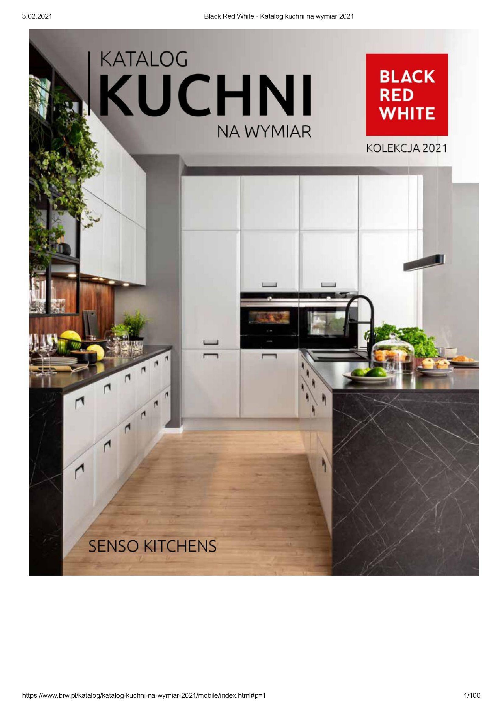 Black Red White:  Katalog - Kuchnie na wymiar Senso Kitchens 2021 31.12.2020