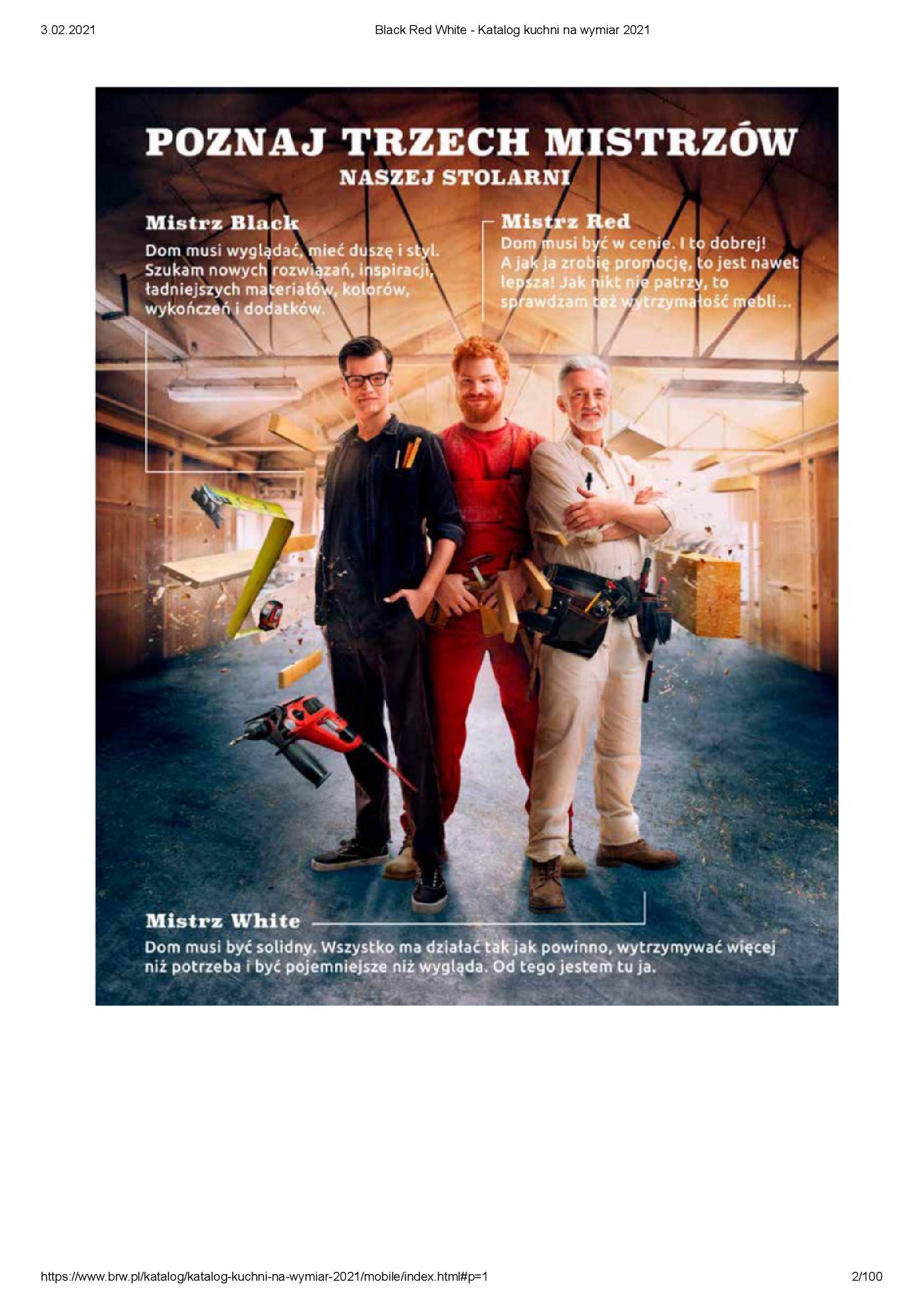 Gazetka Black Red White: Katalog - Kuchnie na wymiar Senso Kitchens 2021 2021-01-01 page-2