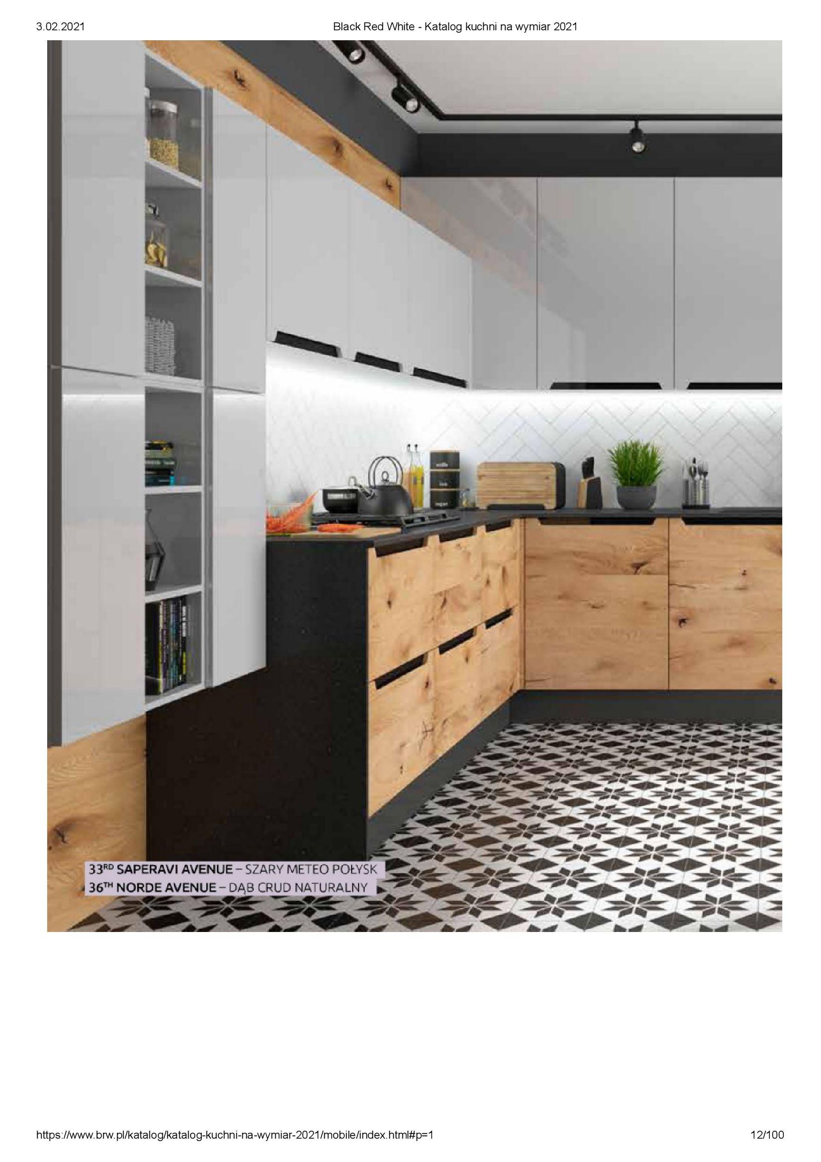 Gazetka Black Red White: Katalog - Kuchnie na wymiar Senso Kitchens 2021 2021-01-01 page-12