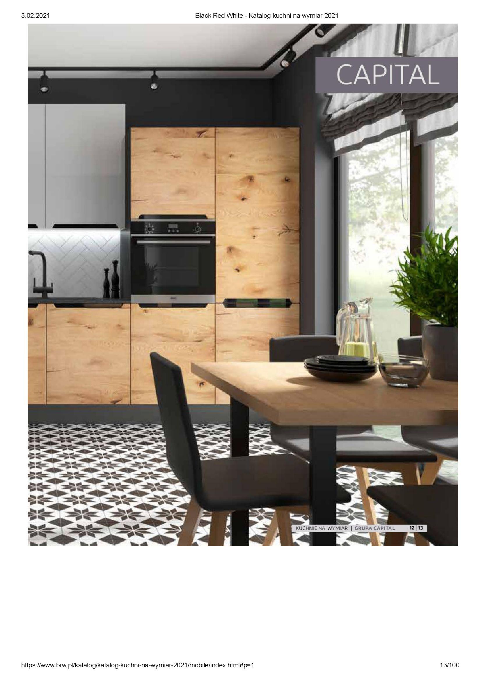 Gazetka Black Red White: Katalog - Kuchnie na wymiar Senso Kitchens 2021 2021-01-01 page-13