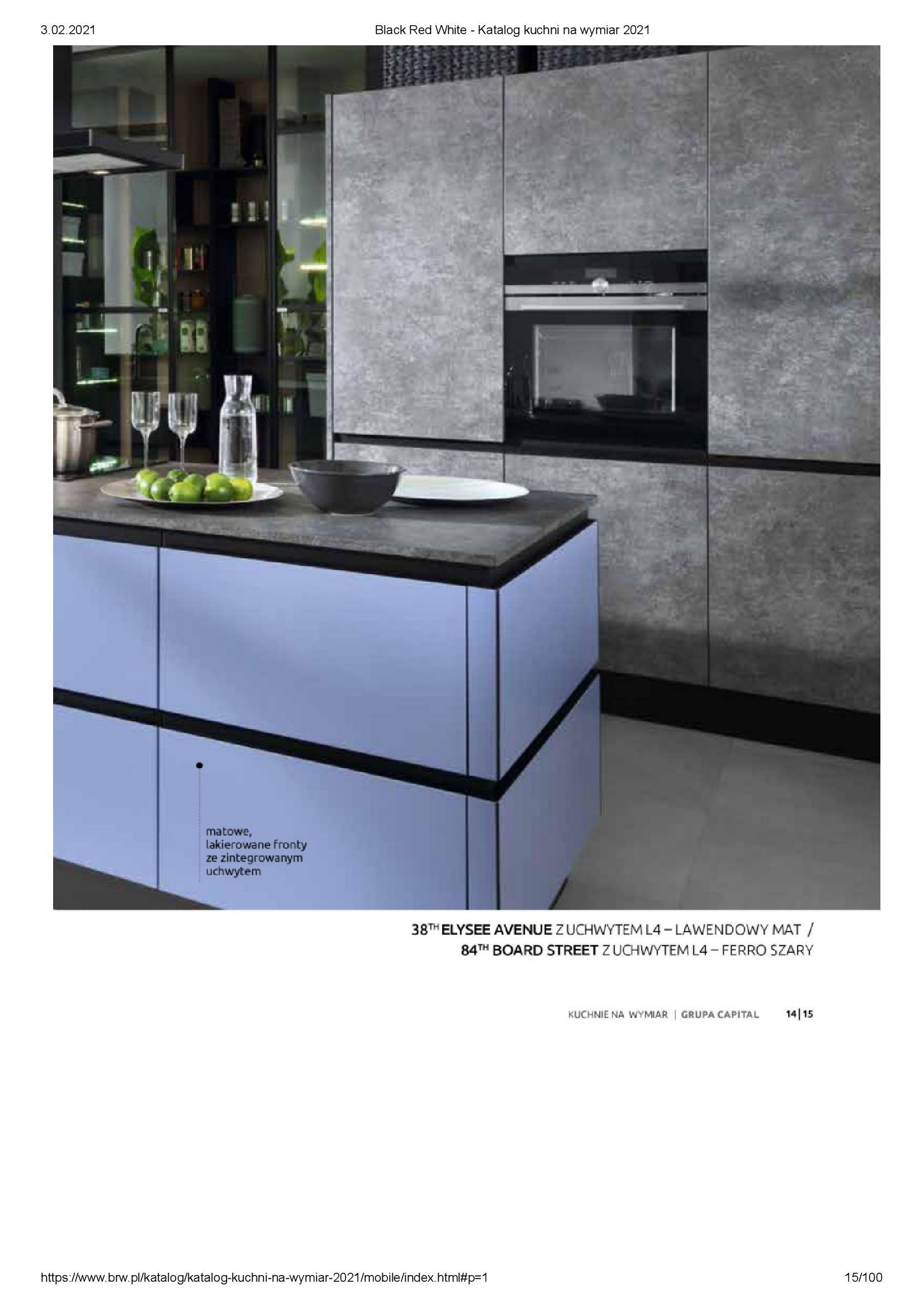 Gazetka Black Red White: Katalog - Kuchnie na wymiar Senso Kitchens 2021 2021-01-01 page-15