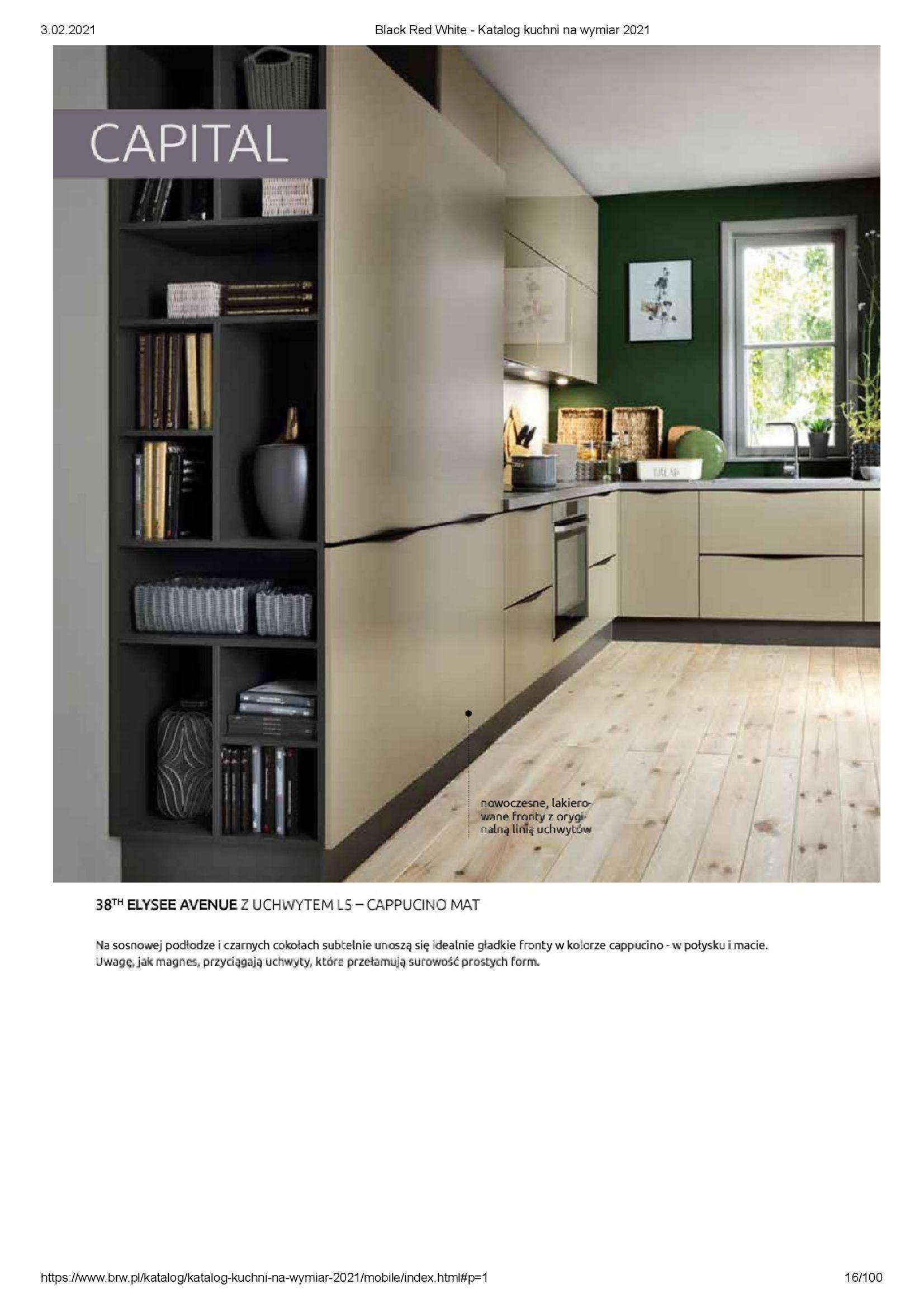 Gazetka Black Red White: Katalog - Kuchnie na wymiar Senso Kitchens 2021 2021-01-01 page-16