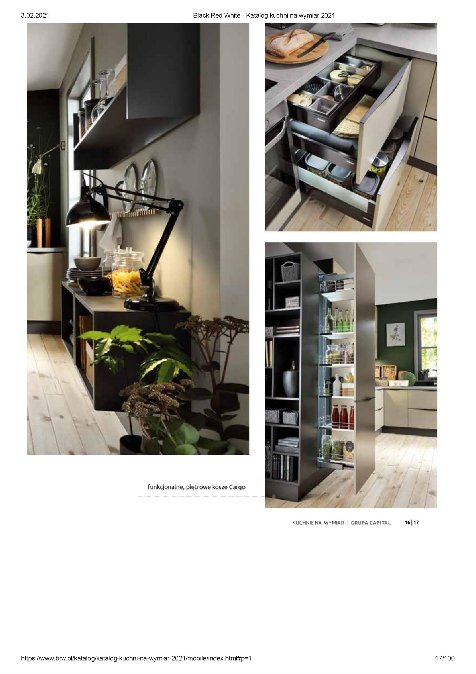 Gazetka Black Red White: Katalog - Kuchnie na wymiar Senso Kitchens 2021 2021-01-01 page-17