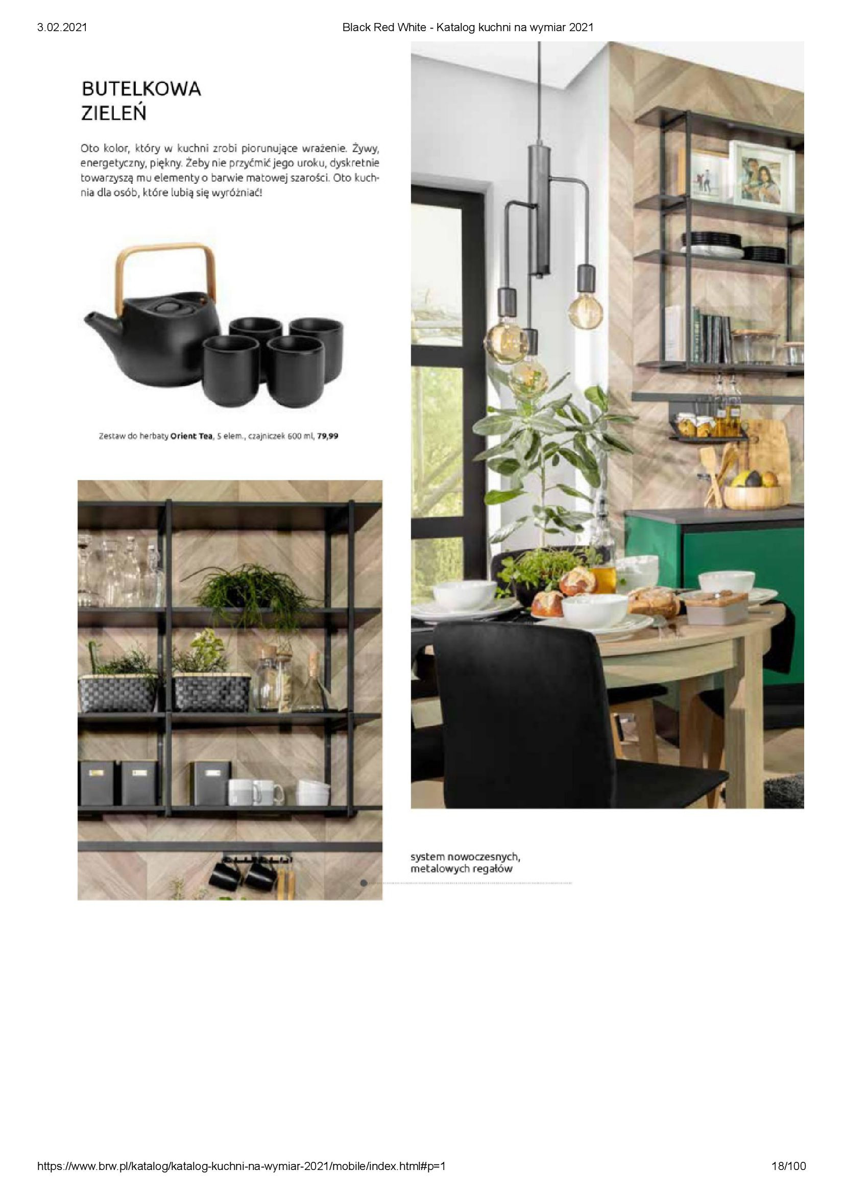 Gazetka Black Red White: Katalog - Kuchnie na wymiar Senso Kitchens 2021 2021-01-01 page-18