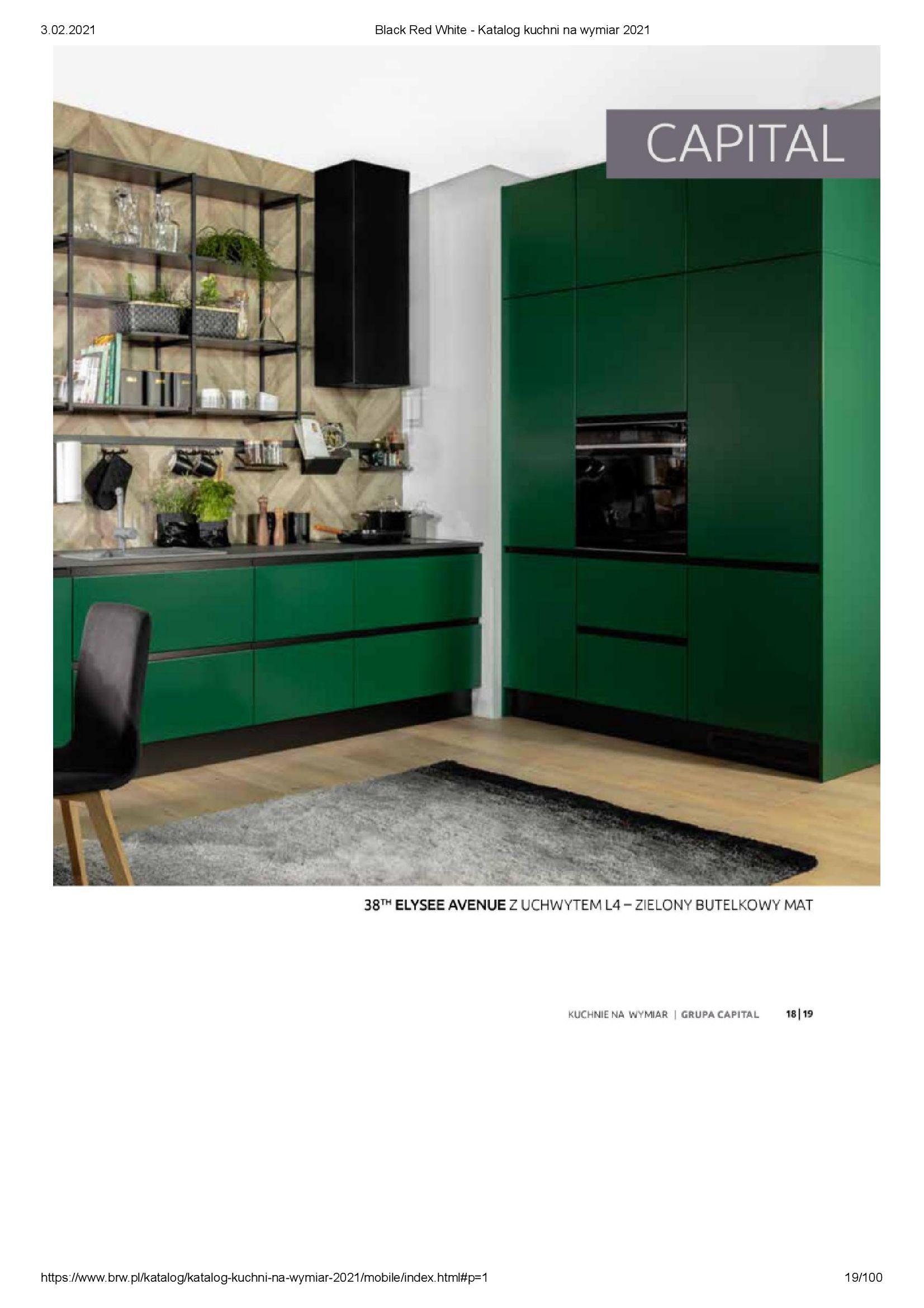 Gazetka Black Red White: Katalog - Kuchnie na wymiar Senso Kitchens 2021 2021-01-01 page-19