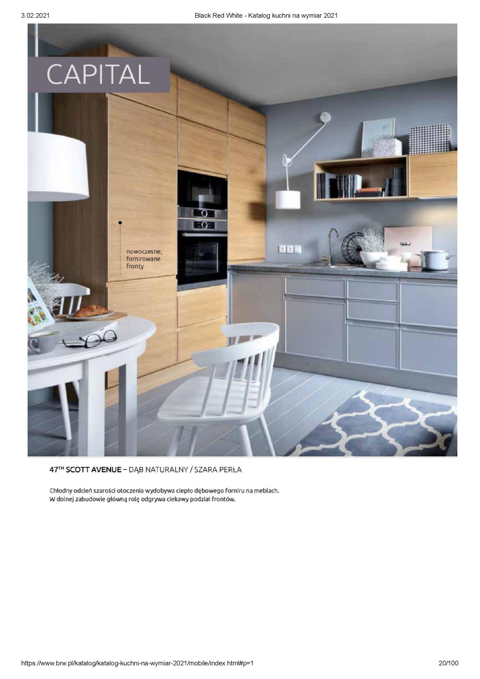 Gazetka Black Red White: Katalog - Kuchnie na wymiar Senso Kitchens 2021 2021-01-01 page-20