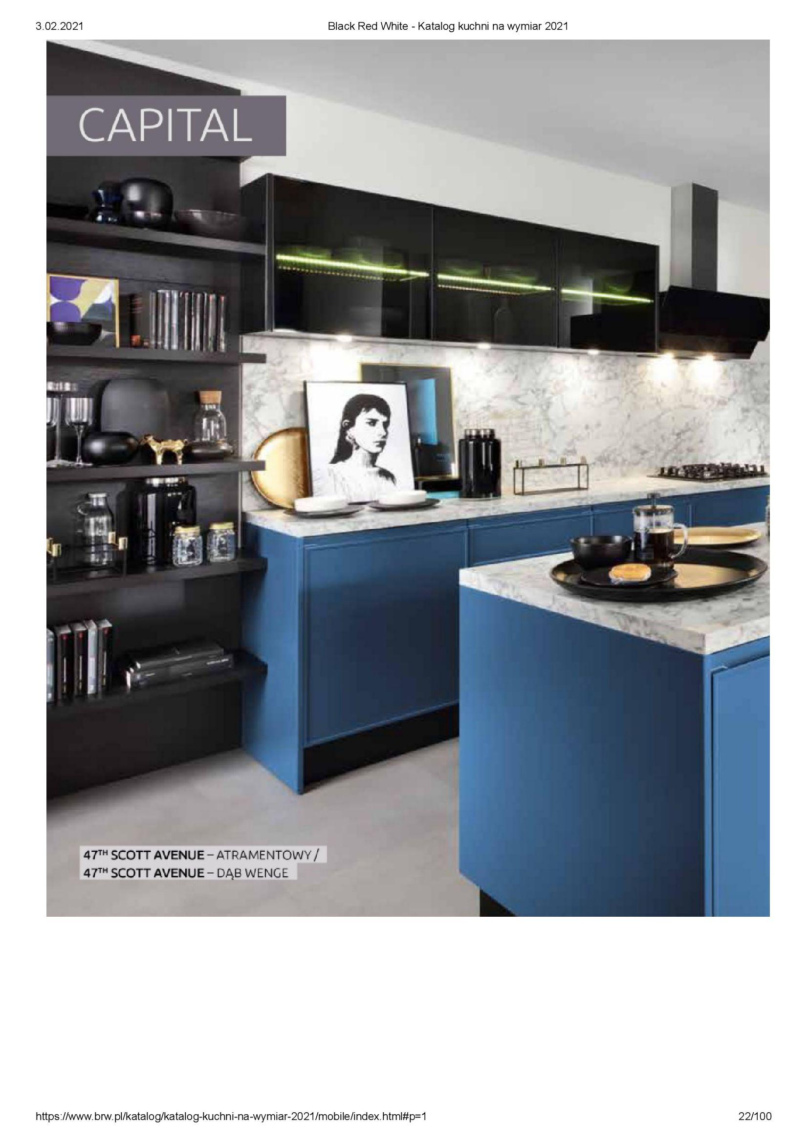 Gazetka Black Red White: Katalog - Kuchnie na wymiar Senso Kitchens 2021 2021-01-01 page-22