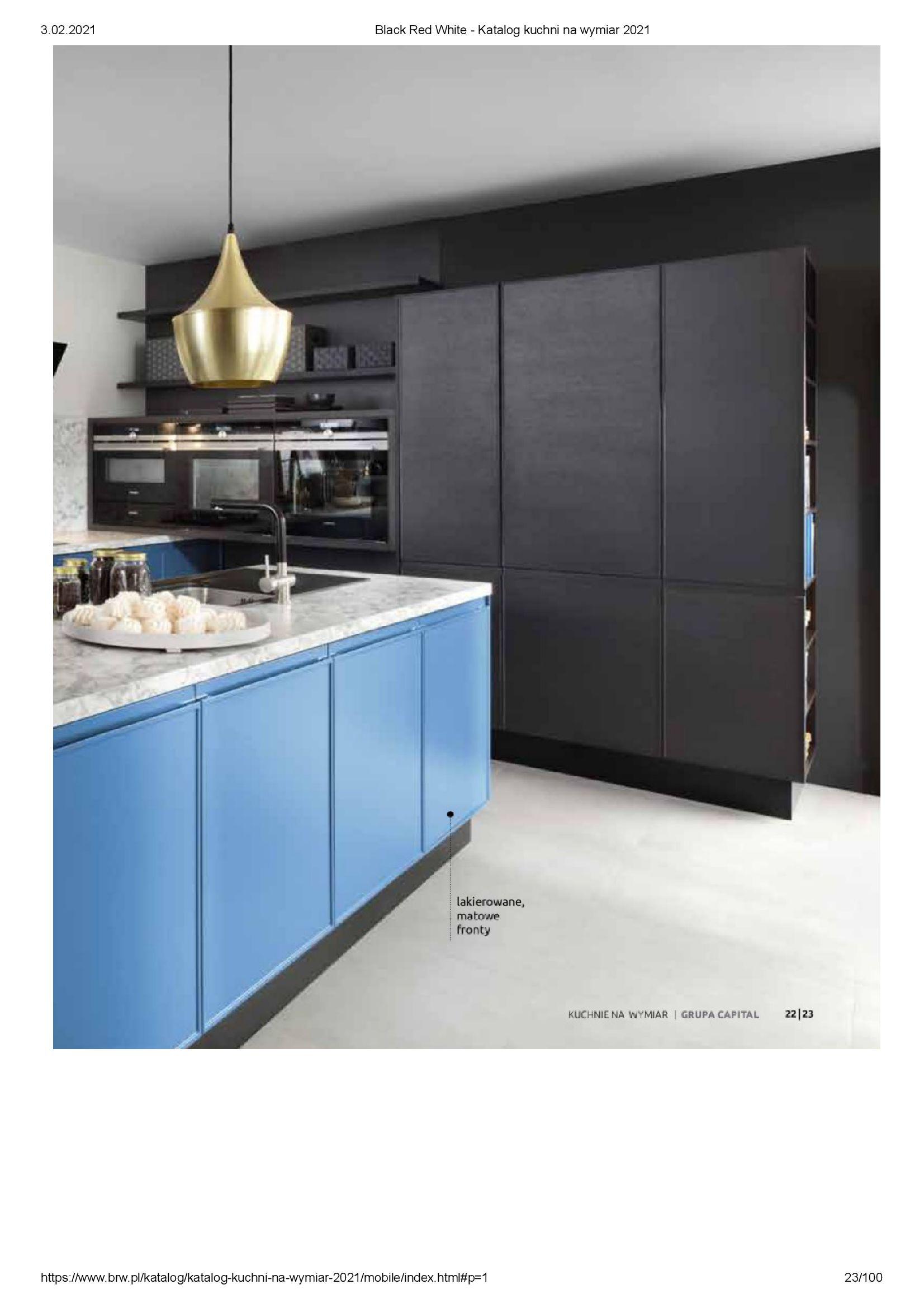 Gazetka Black Red White: Katalog - Kuchnie na wymiar Senso Kitchens 2021 2021-01-01 page-23