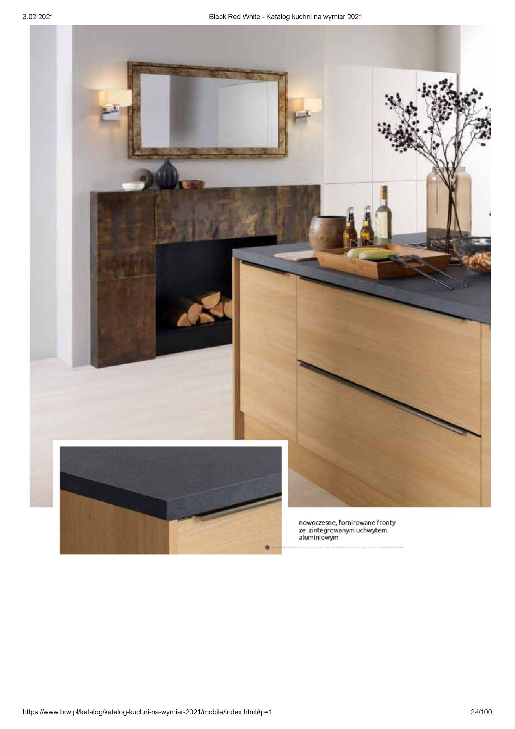 Gazetka Black Red White: Katalog - Kuchnie na wymiar Senso Kitchens 2021 2021-01-01 page-24