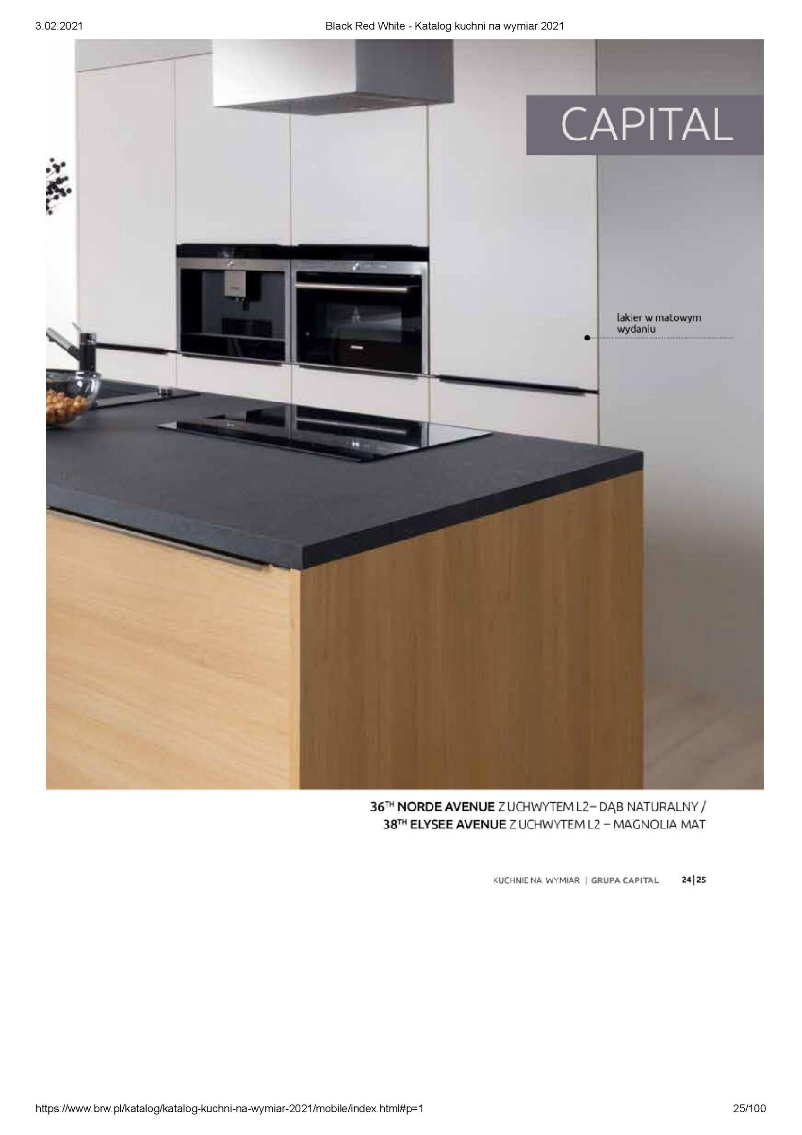 Gazetka Black Red White: Katalog - Kuchnie na wymiar Senso Kitchens 2021 2021-01-01 page-25
