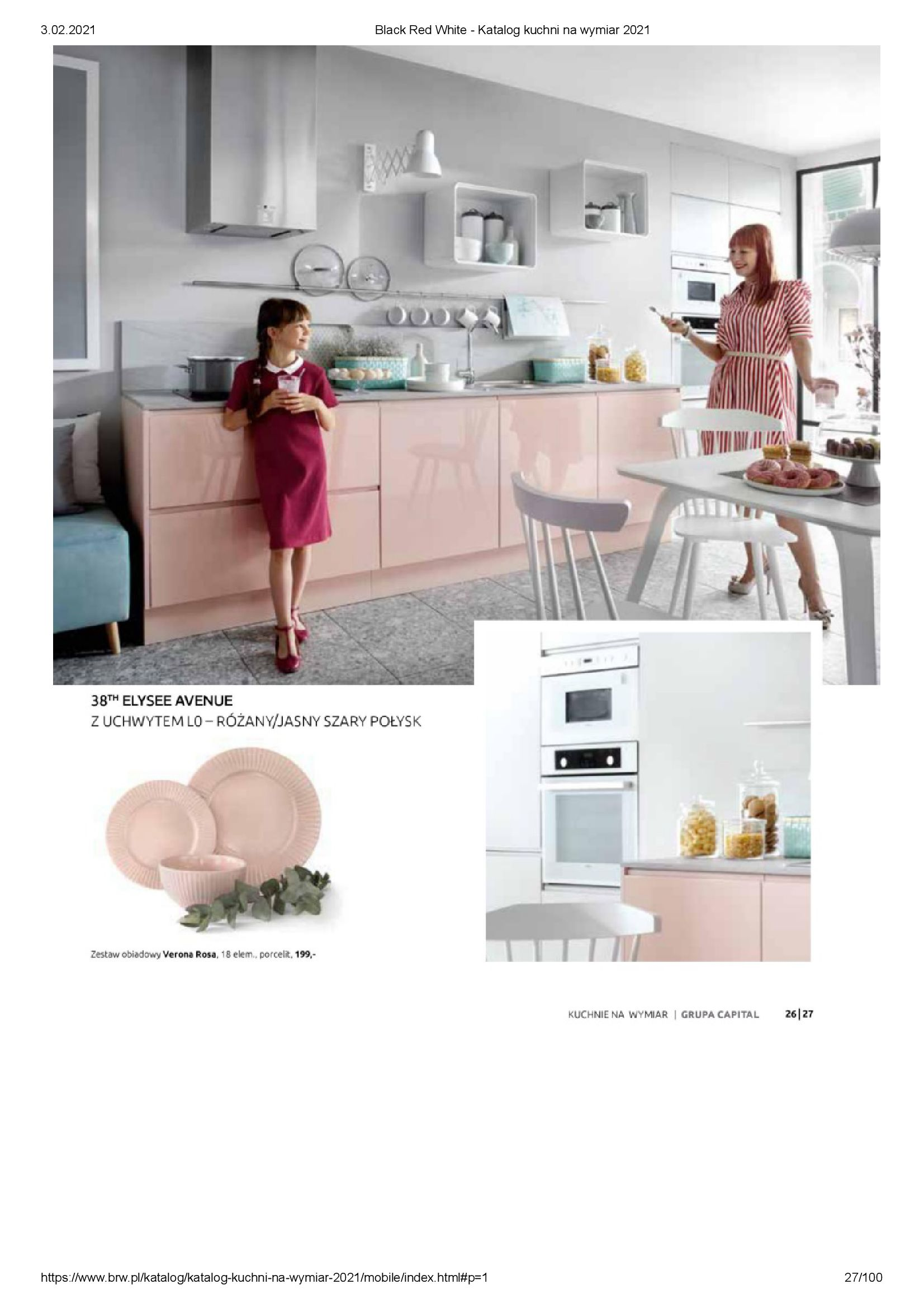 Gazetka Black Red White: Katalog - Kuchnie na wymiar Senso Kitchens 2021 2021-01-01 page-27