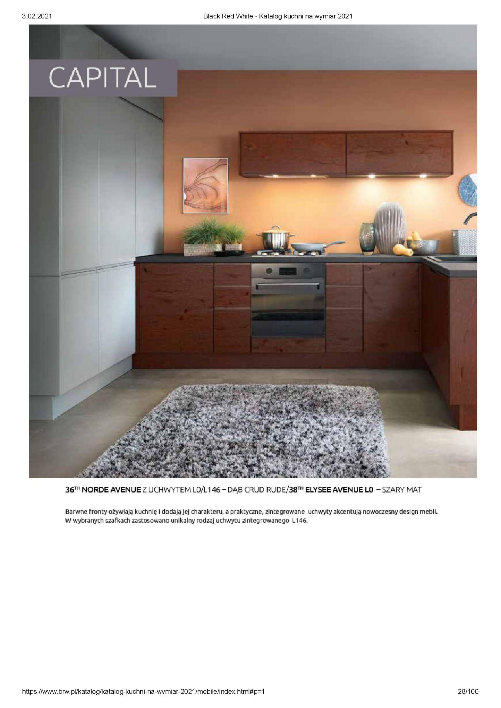 Gazetka Black Red White: Katalog - Kuchnie na wymiar Senso Kitchens 2021 2021-01-01 page-28