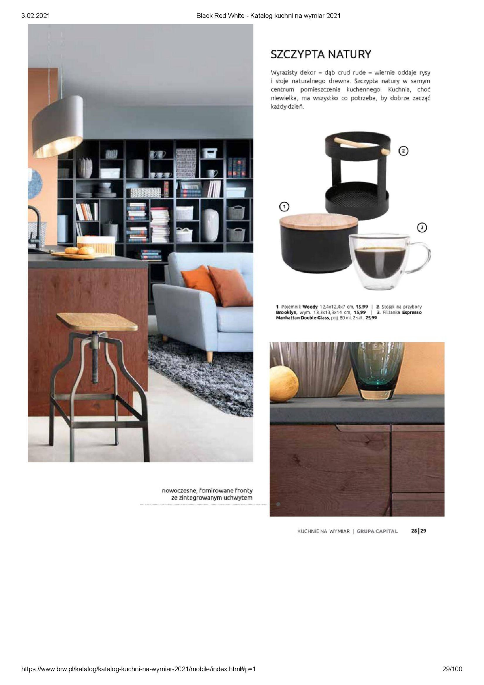 Gazetka Black Red White: Katalog - Kuchnie na wymiar Senso Kitchens 2021 2021-01-01 page-29