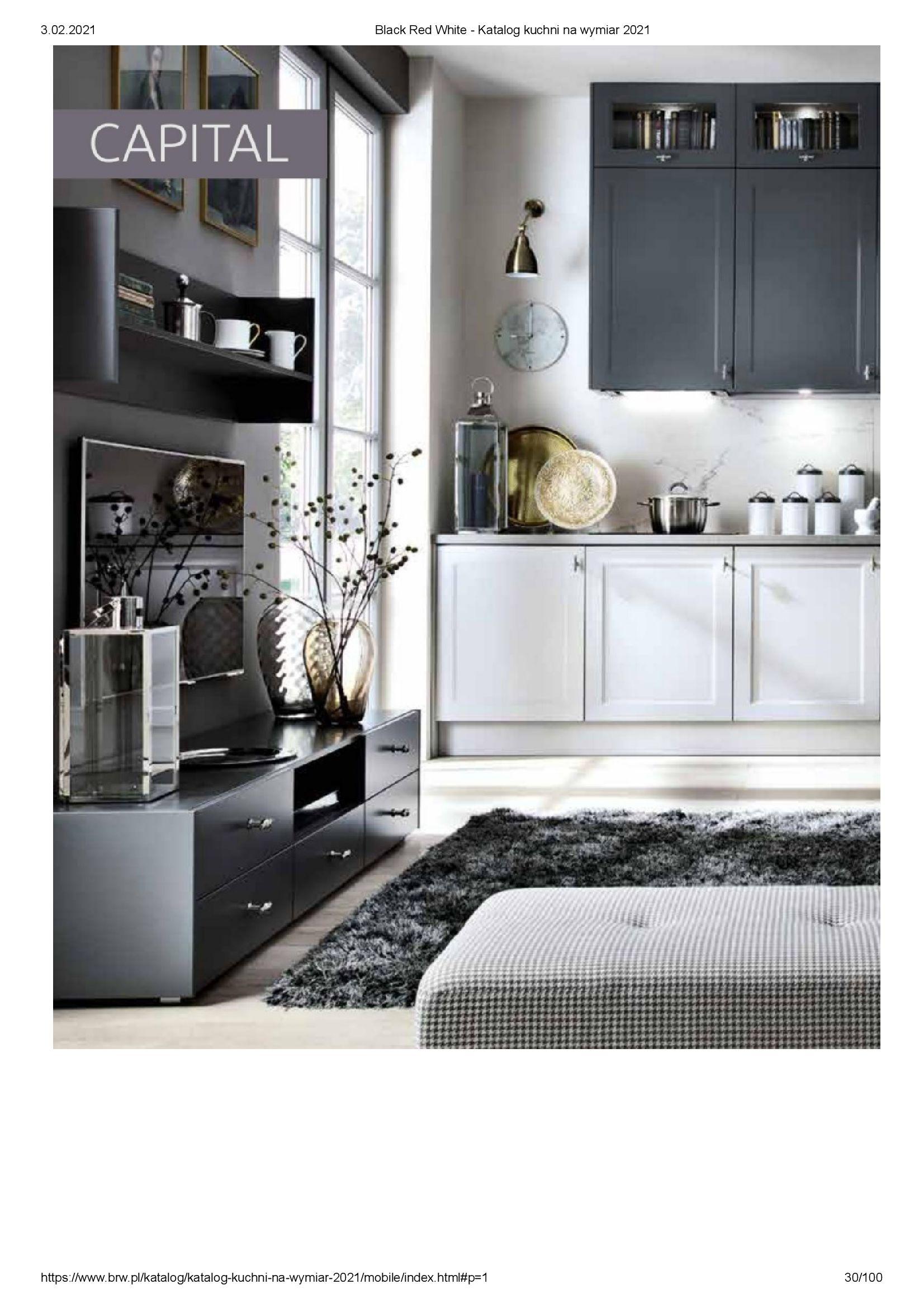 Gazetka Black Red White: Katalog - Kuchnie na wymiar Senso Kitchens 2021 2021-01-01 page-30