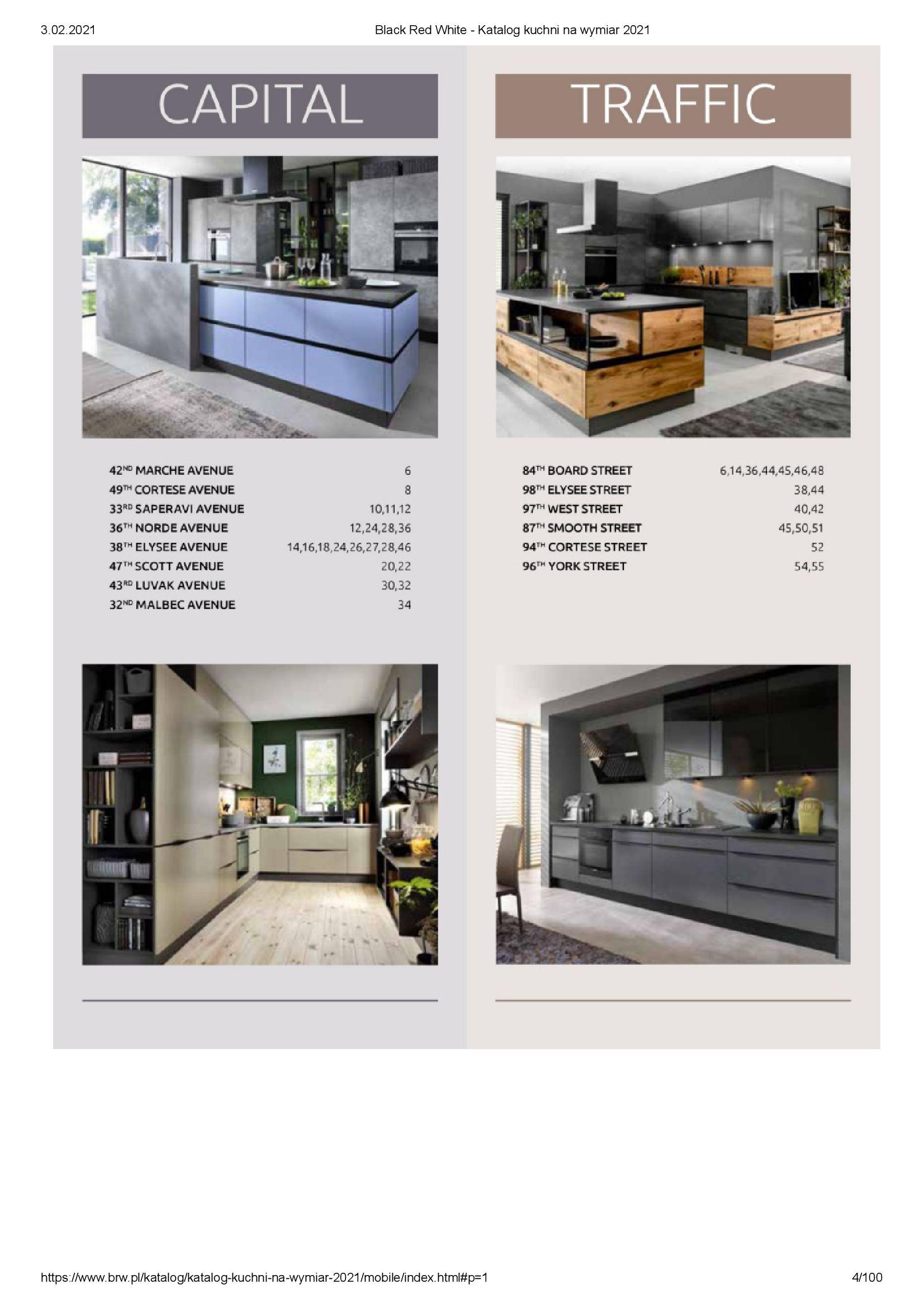 Gazetka Black Red White: Katalog - Kuchnie na wymiar Senso Kitchens 2021 2021-01-01 page-4
